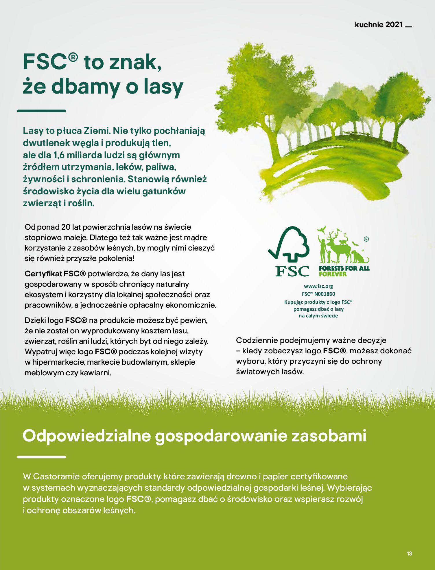 Gazetka Castorama: Katalog kuchnie 2021 2021-05-04 page-13