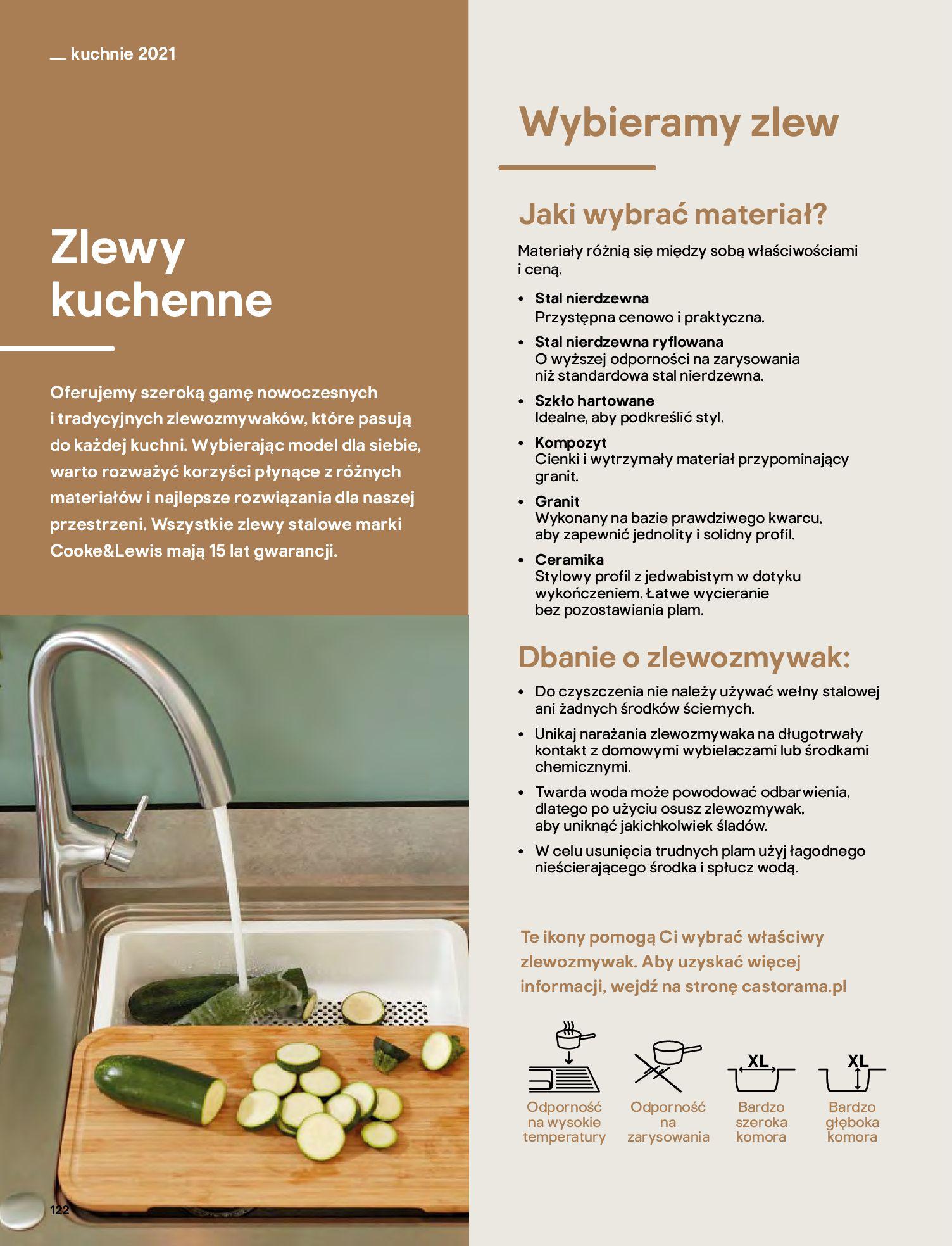Gazetka Castorama: Katalog kuchnie 2021 2021-05-04 page-122