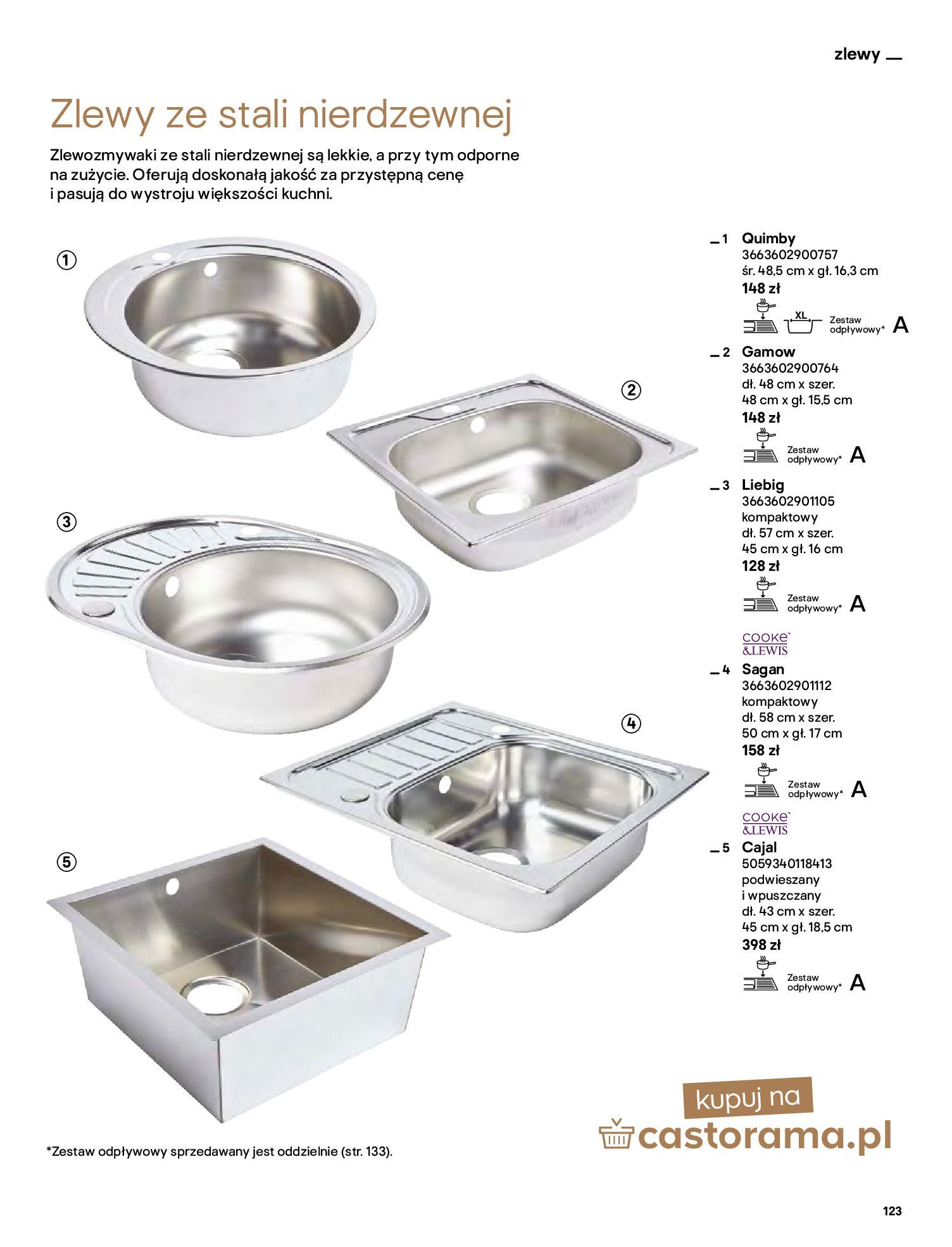 Gazetka Castorama: Katalog kuchnie 2021 2021-05-04 page-123