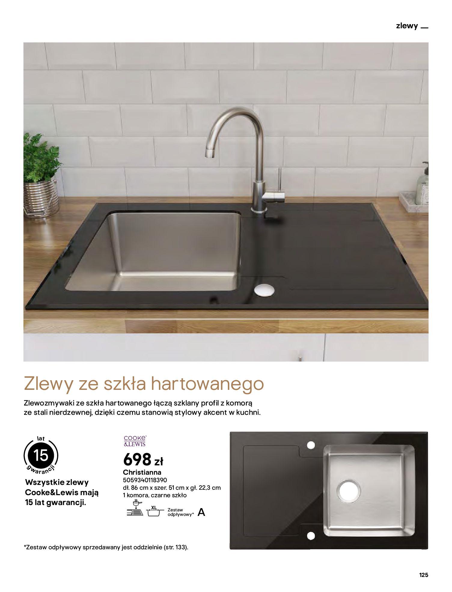 Gazetka Castorama: Katalog kuchnie 2021 2021-05-04 page-125