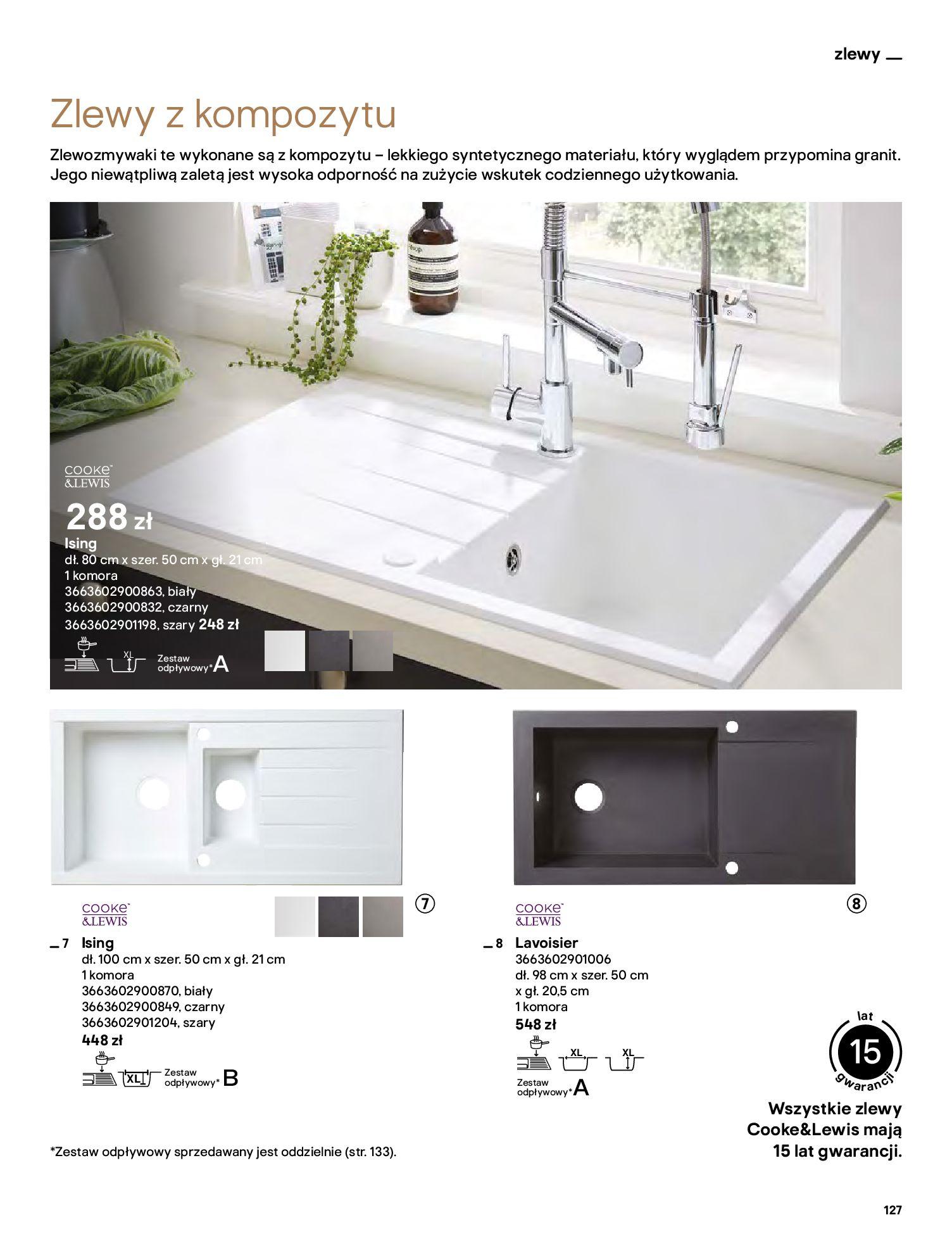 Gazetka Castorama: Katalog kuchnie 2021 2021-05-04 page-127