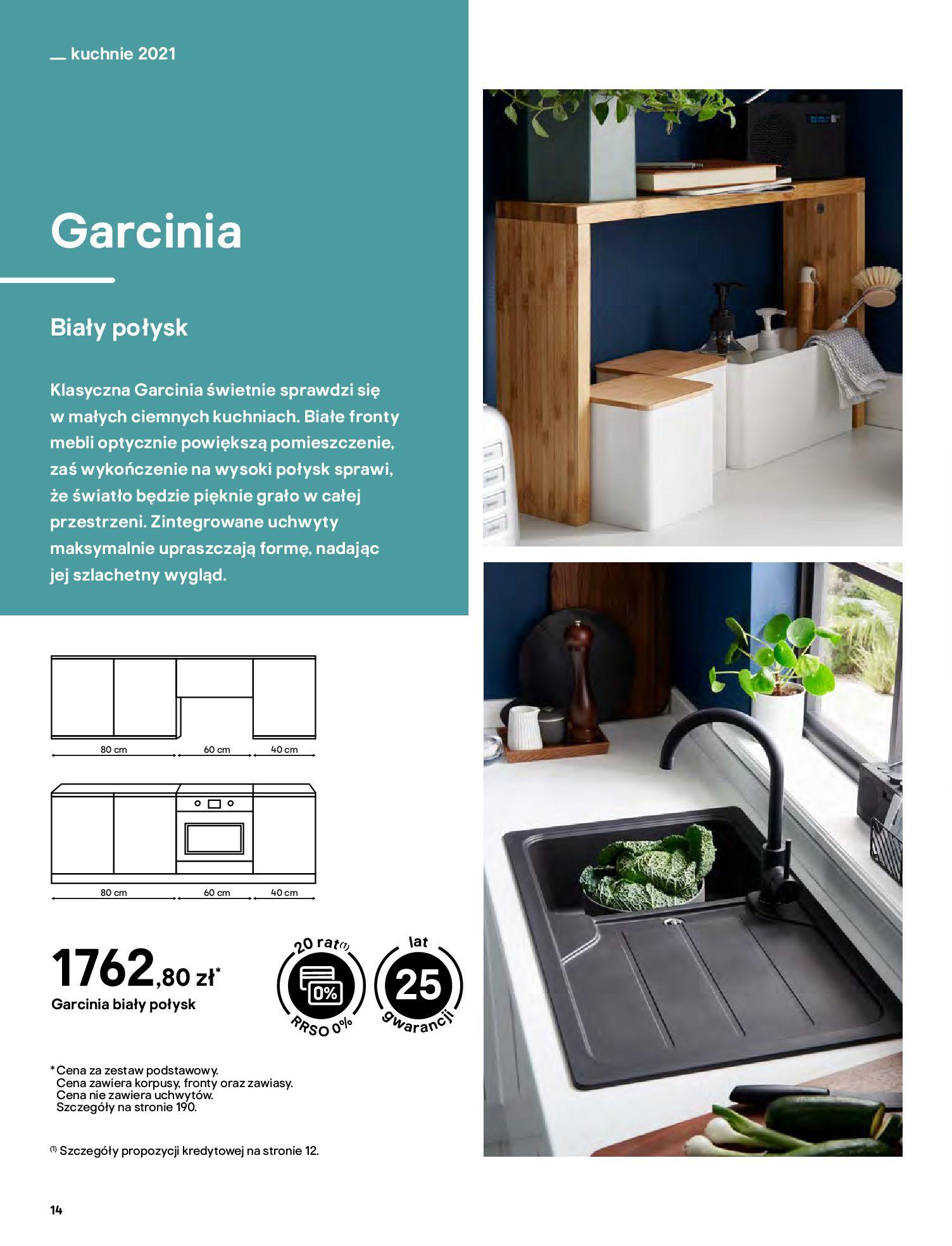 Gazetka Castorama: Katalog kuchnie 2021 2021-05-04 page-14