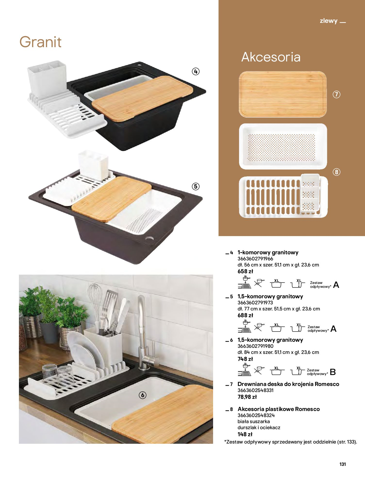 Gazetka Castorama: Katalog kuchnie 2021 2021-05-04 page-131