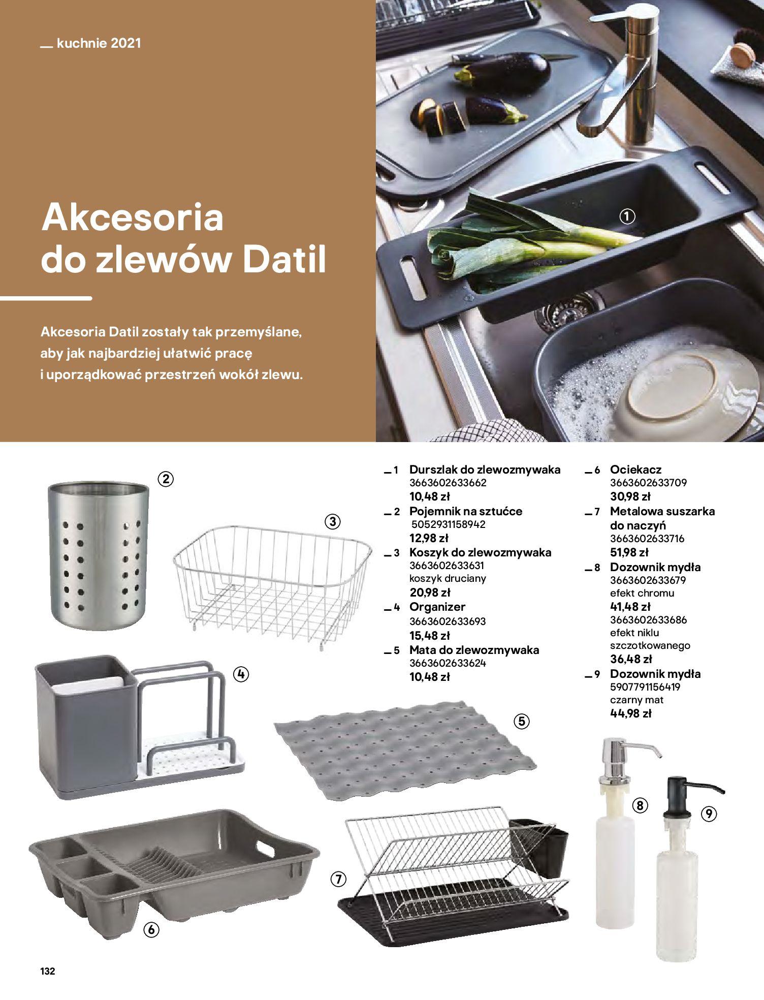 Gazetka Castorama: Katalog kuchnie 2021 2021-05-04 page-132
