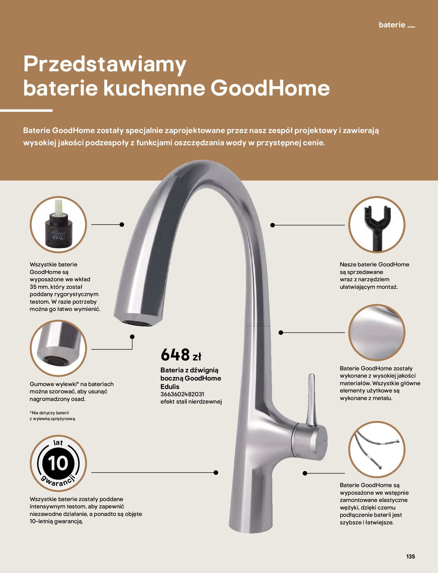 Gazetka Castorama: Katalog kuchnie 2021 2021-05-04 page-135