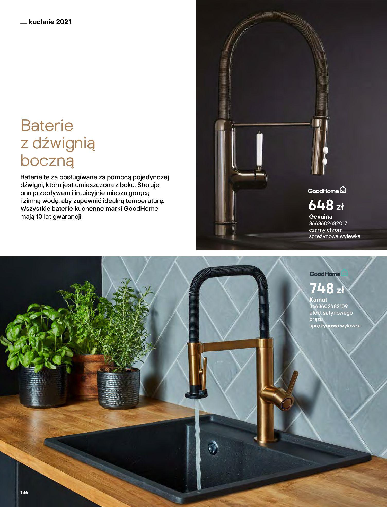 Gazetka Castorama: Katalog kuchnie 2021 2021-05-04 page-136