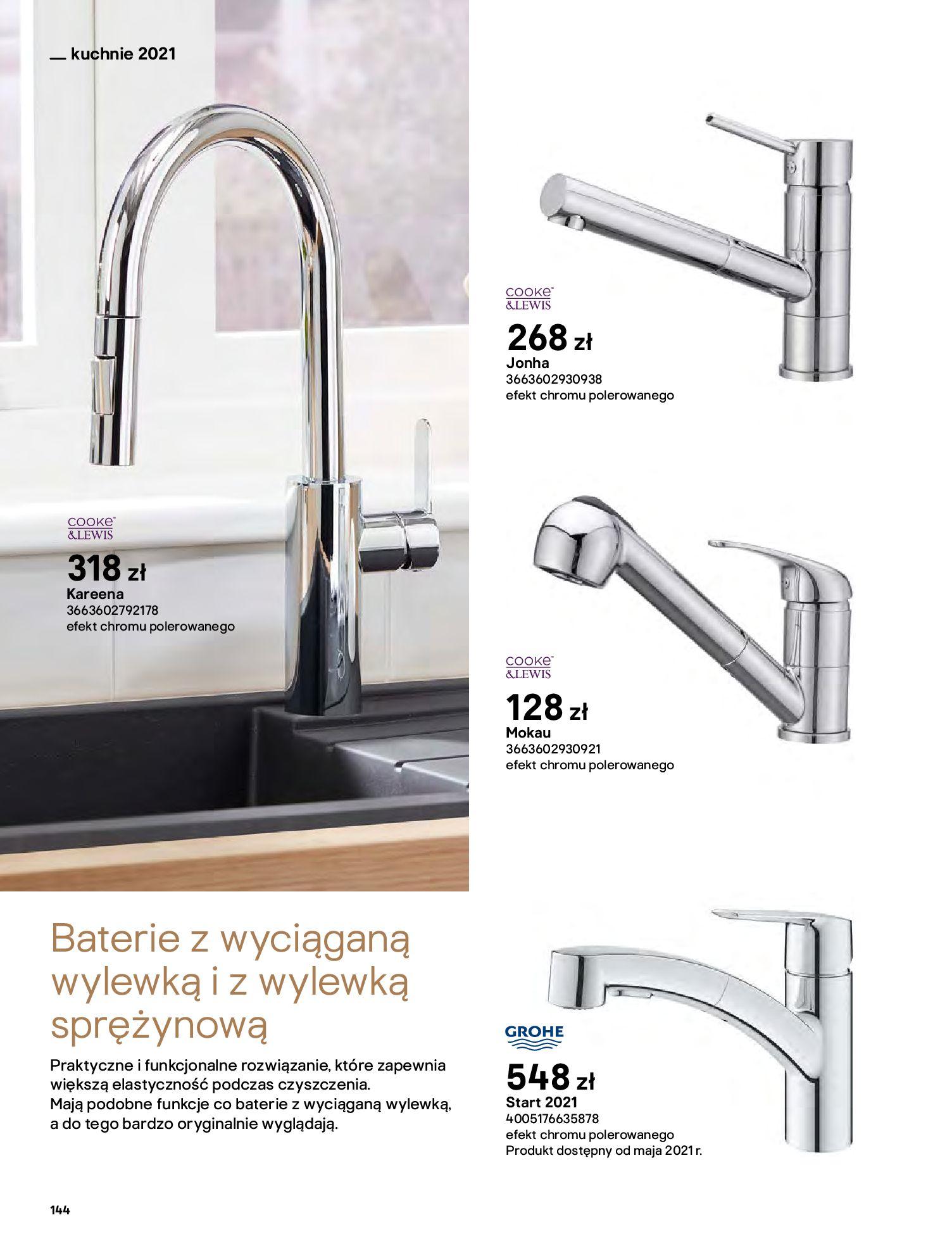 Gazetka Castorama: Katalog kuchnie 2021 2021-05-04 page-144