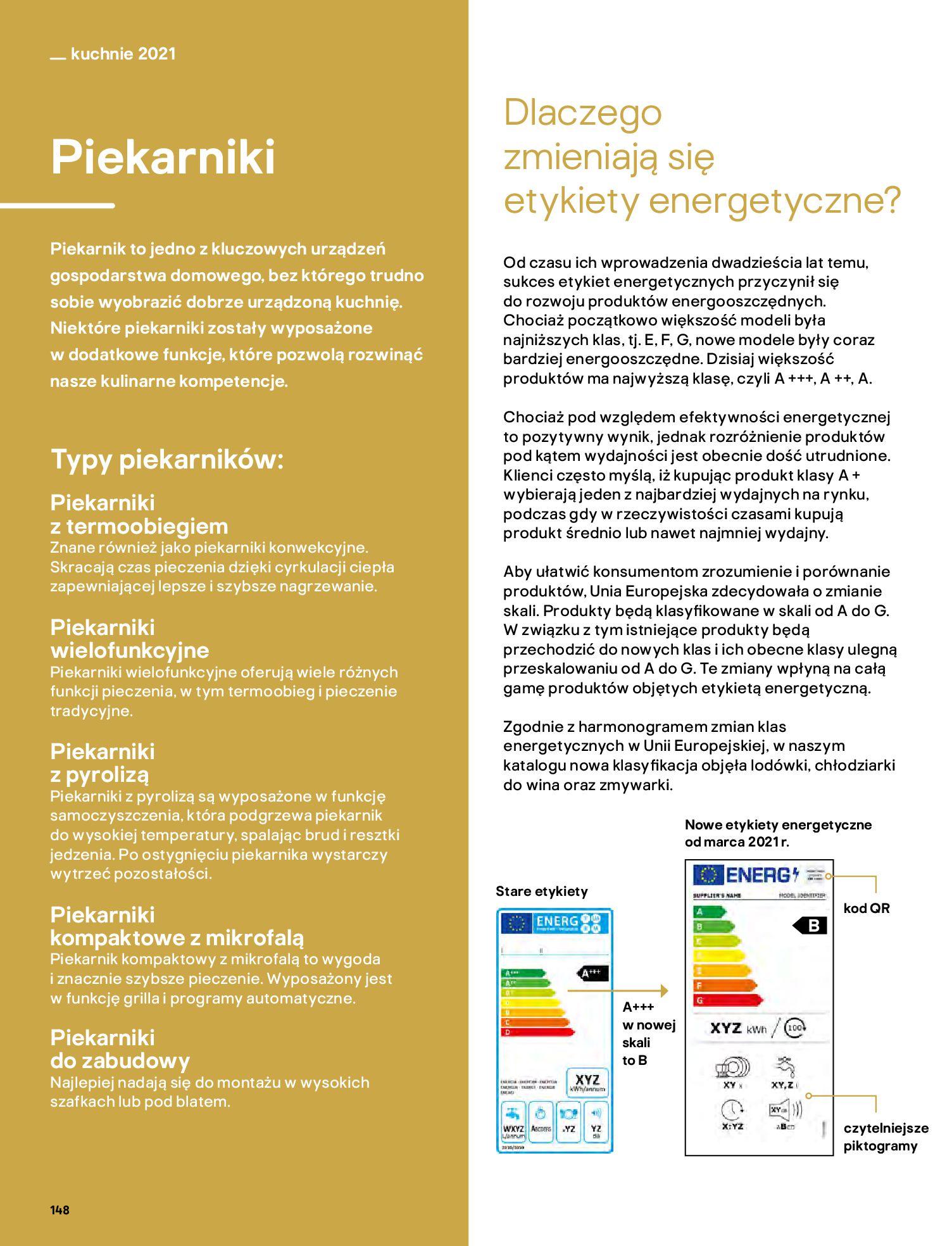Gazetka Castorama: Katalog kuchnie 2021 2021-05-04 page-148