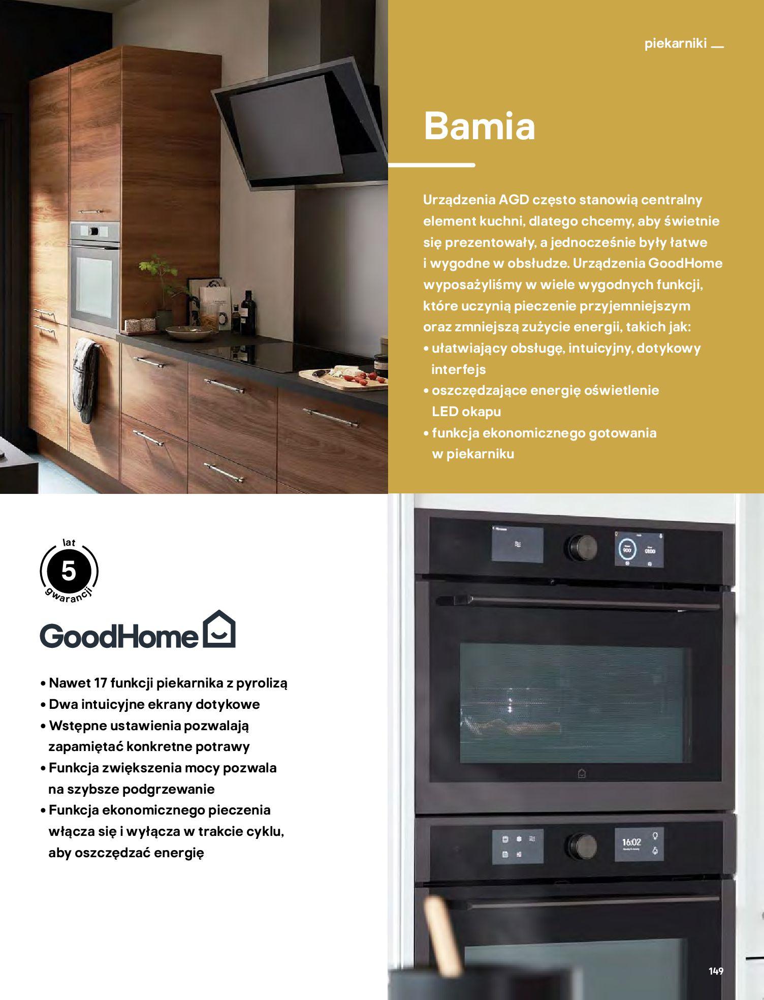 Gazetka Castorama: Katalog kuchnie 2021 2021-05-04 page-149