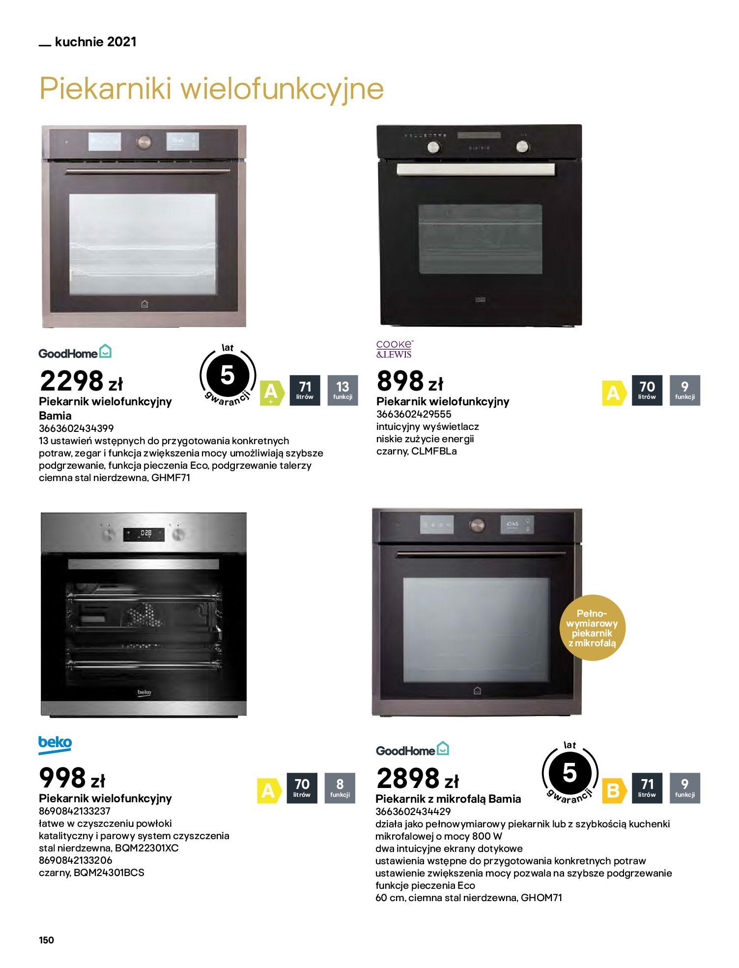 Gazetka Castorama: Katalog kuchnie 2021 2021-05-04 page-150