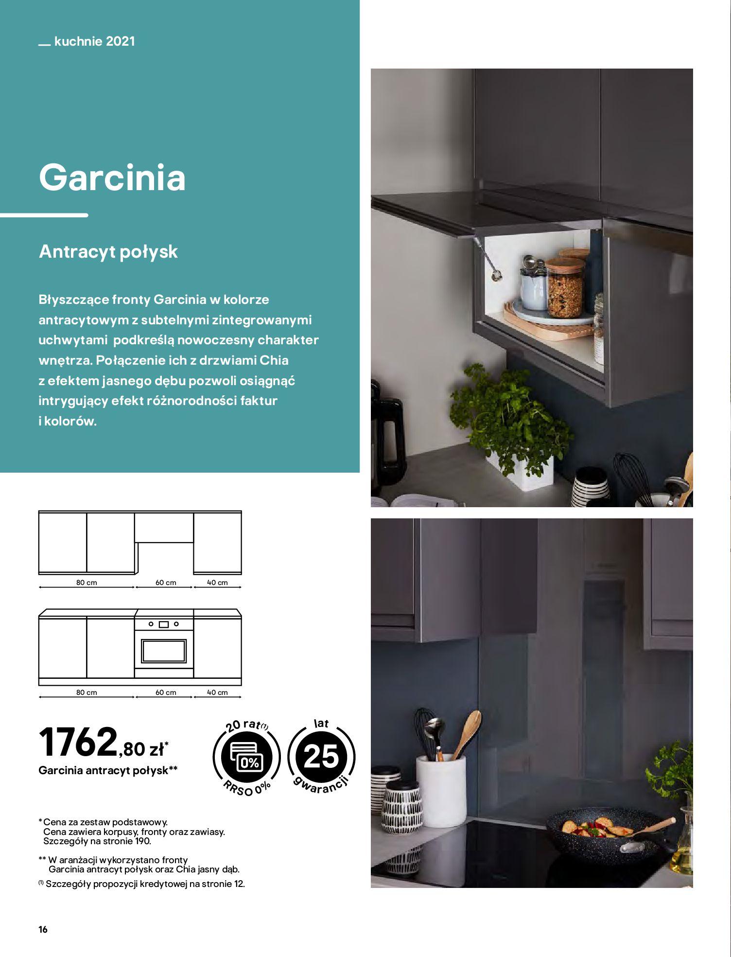 Gazetka Castorama: Katalog kuchnie 2021 2021-05-04 page-16