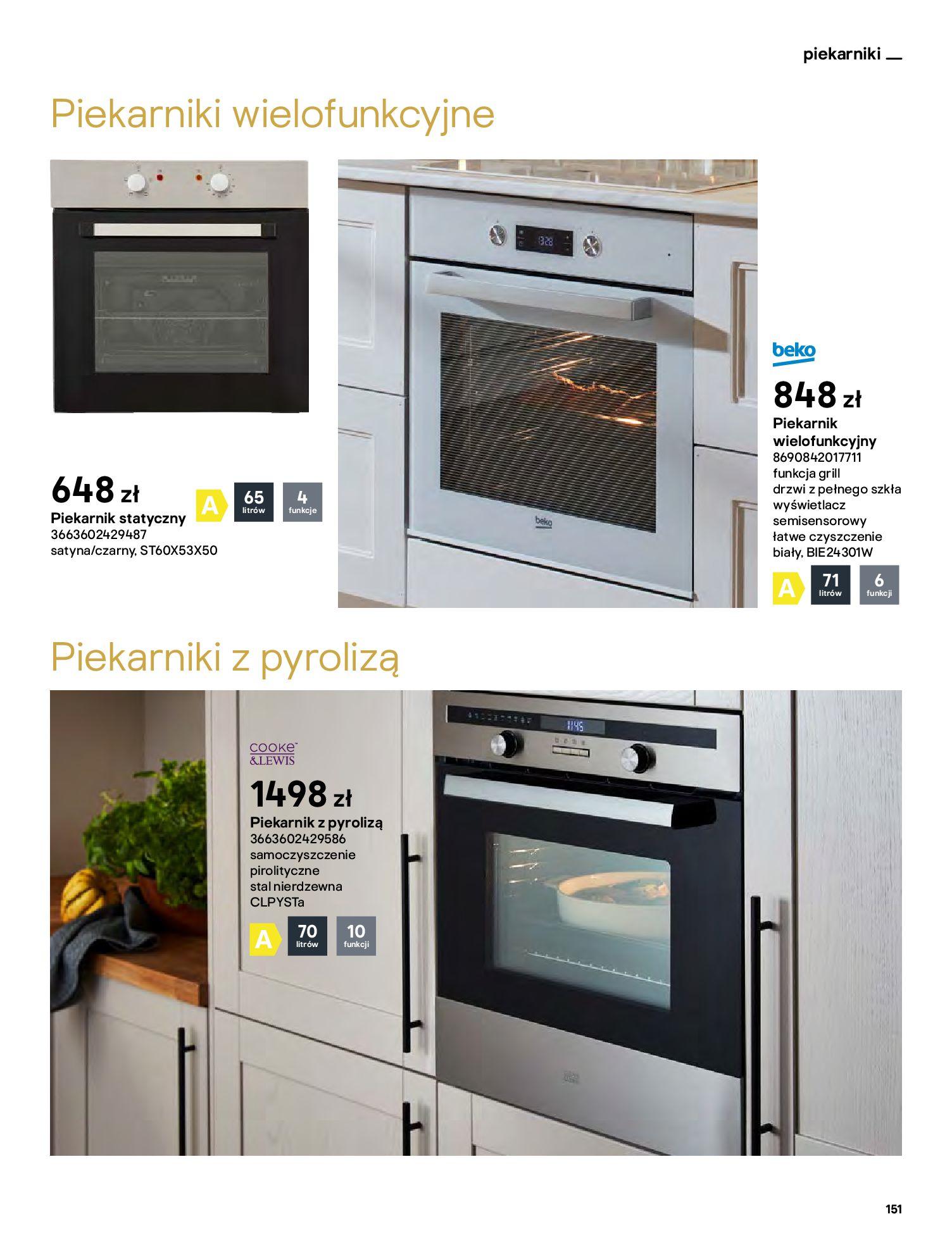 Gazetka Castorama: Katalog kuchnie 2021 2021-05-04 page-151