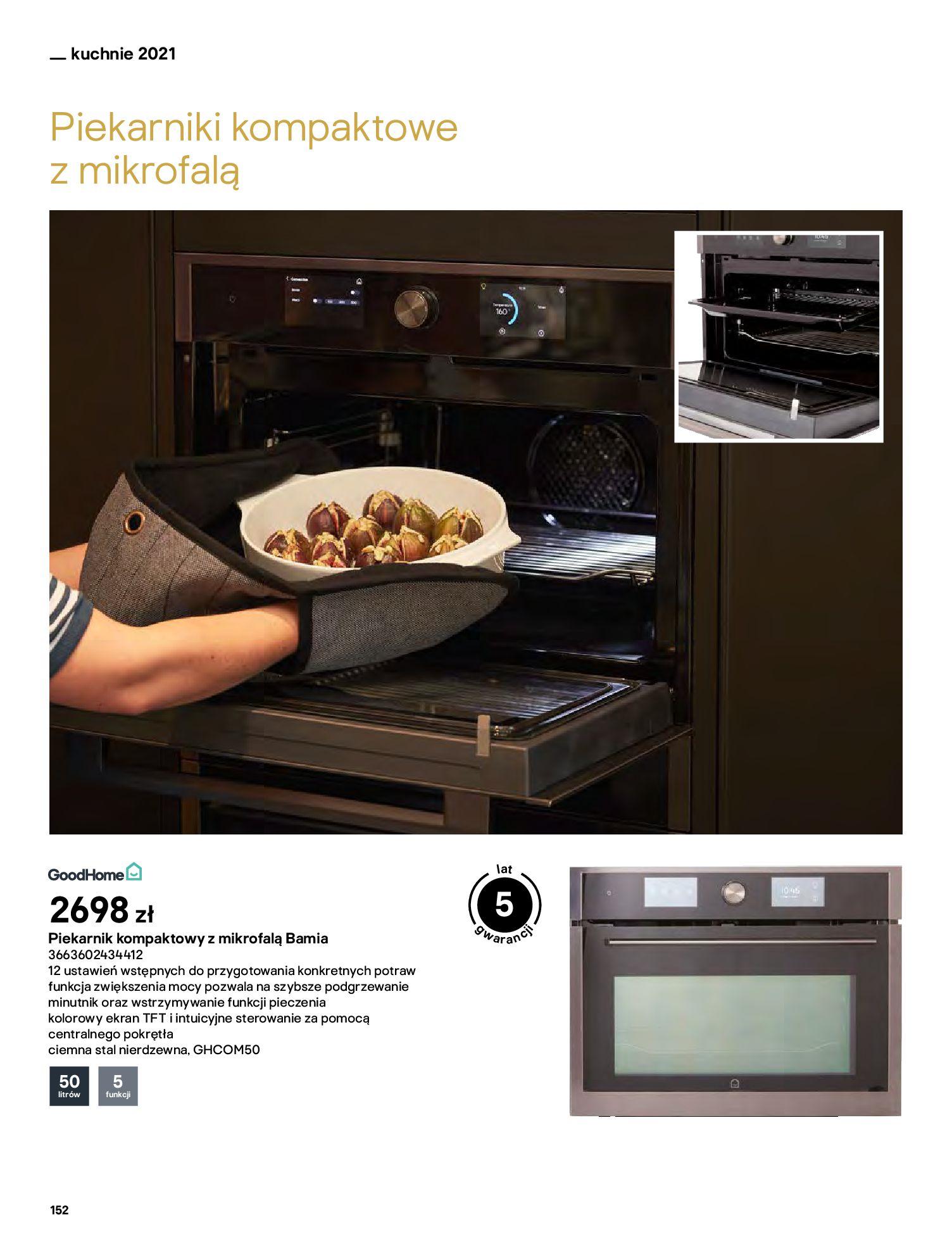 Gazetka Castorama: Katalog kuchnie 2021 2021-05-04 page-152