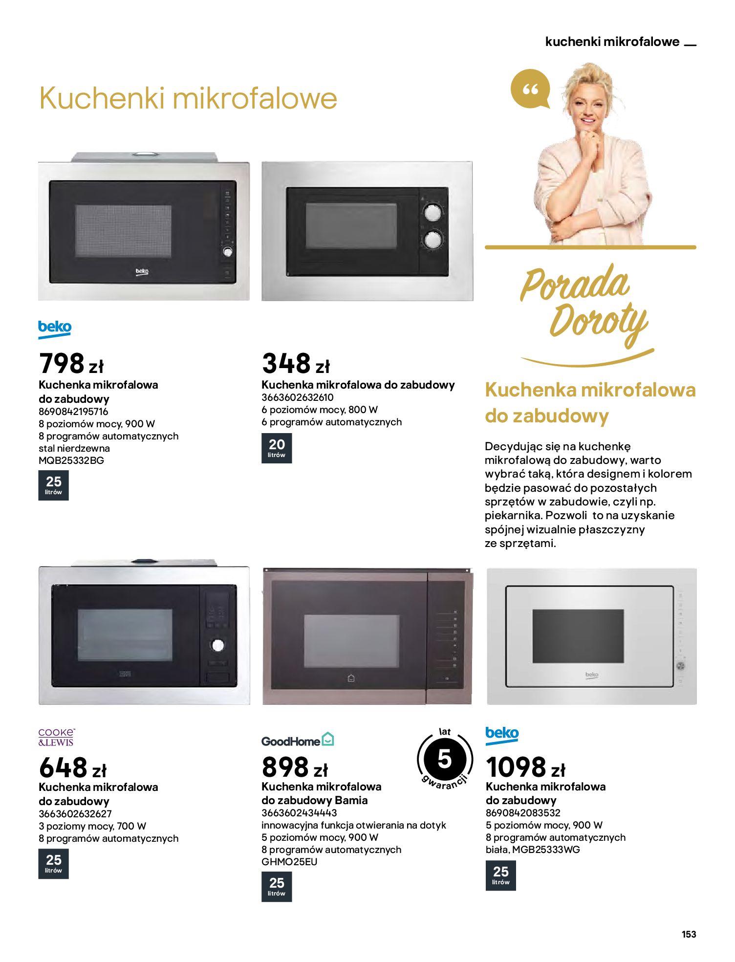 Gazetka Castorama: Katalog kuchnie 2021 2021-05-04 page-153