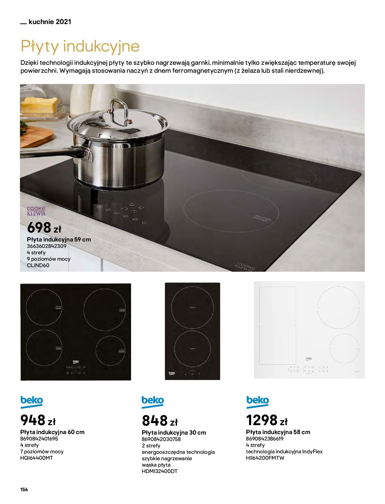 Gazetka Castorama: Katalog kuchnie 2021 2021-05-04 page-156