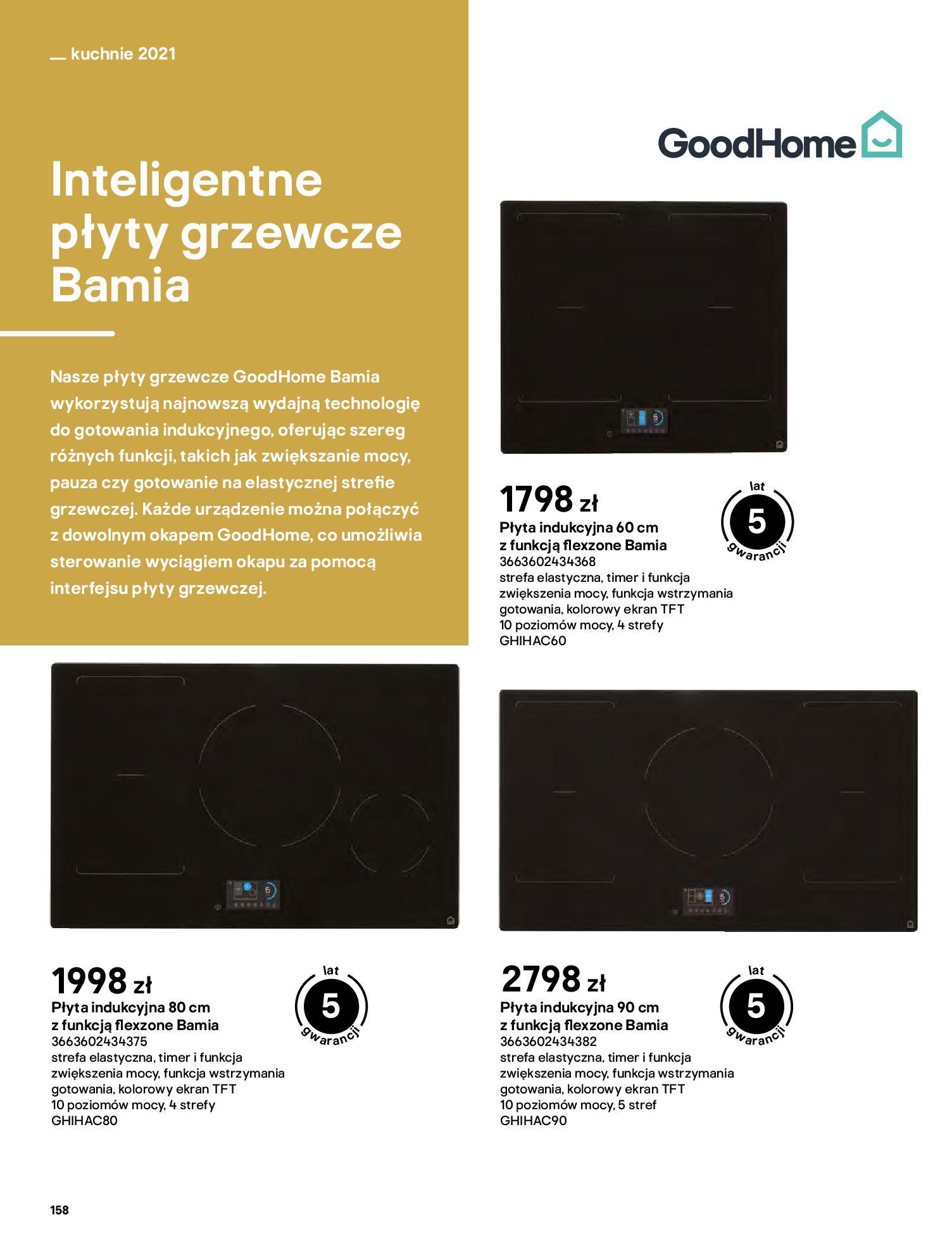 Gazetka Castorama: Katalog kuchnie 2021 2021-05-04 page-158