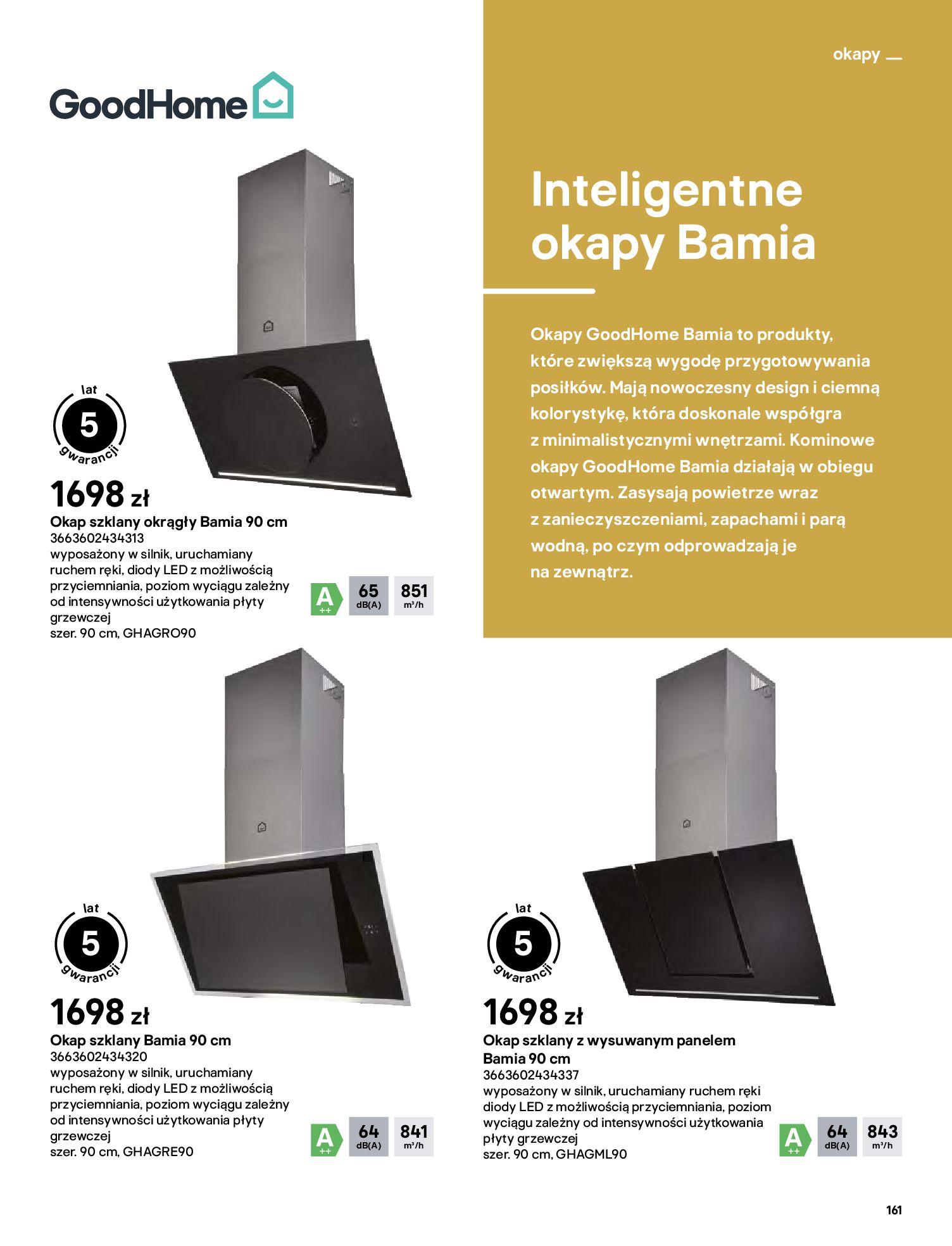 Gazetka Castorama: Katalog kuchnie 2021 2021-05-04 page-161