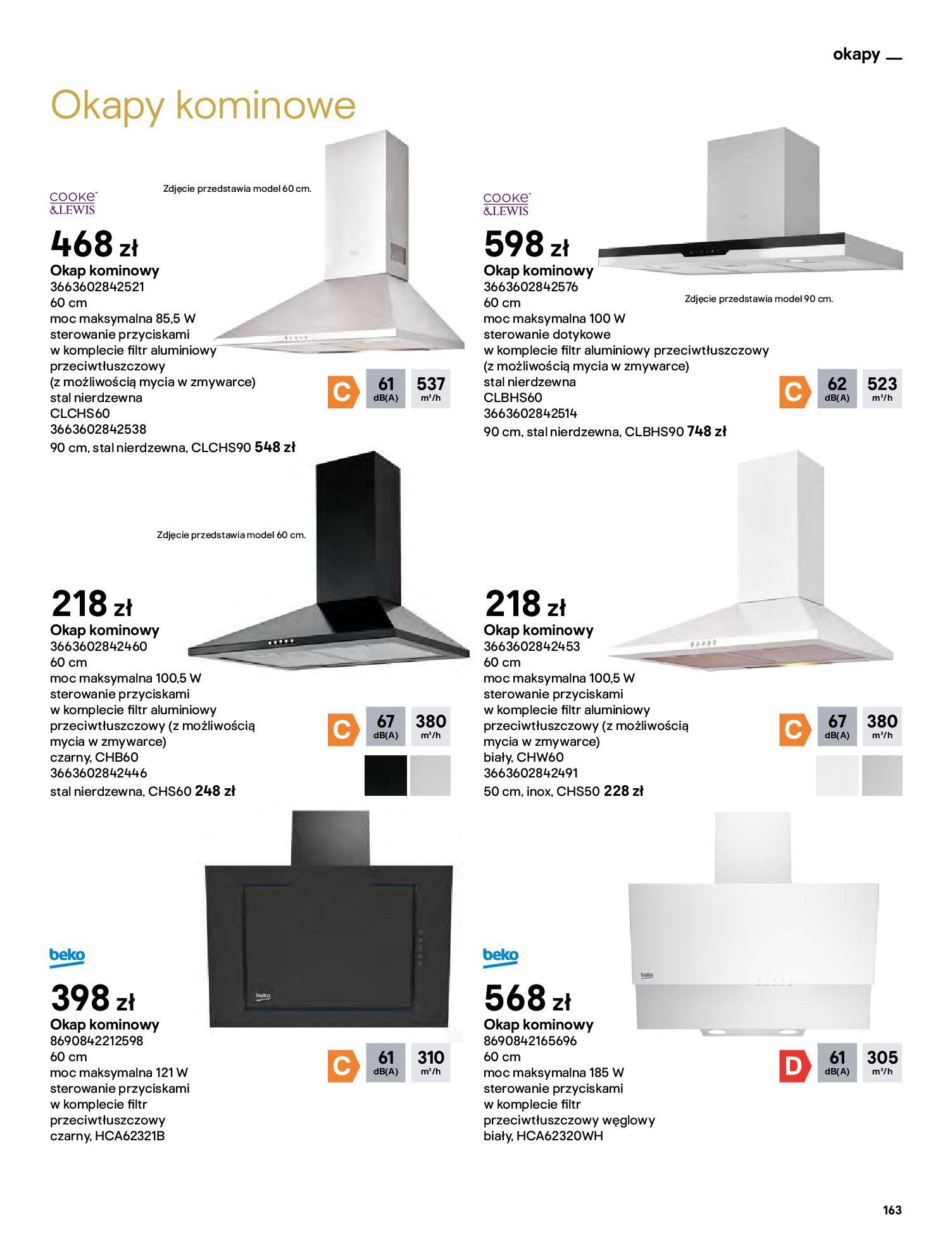 Gazetka Castorama: Katalog kuchnie 2021 2021-05-04 page-163