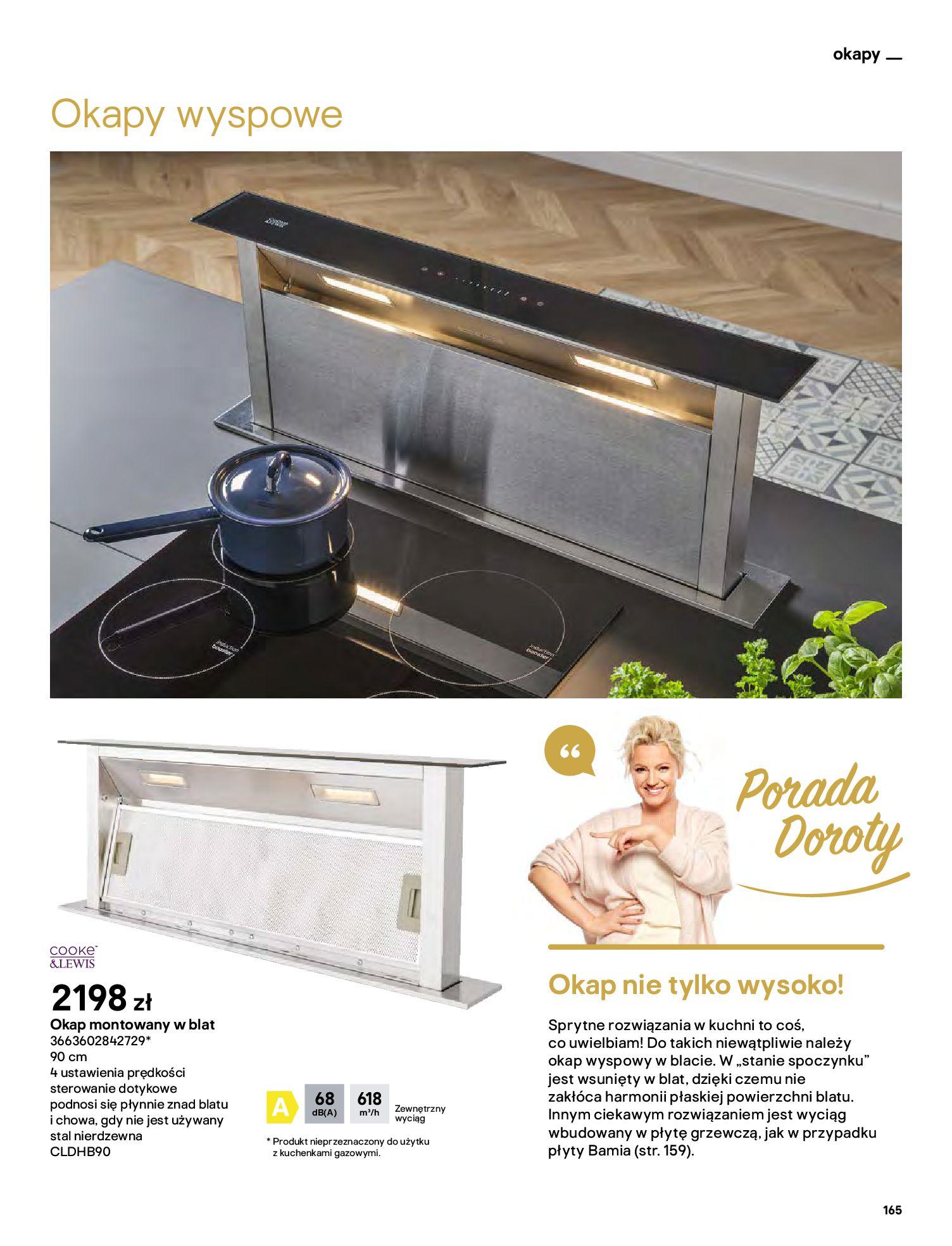 Gazetka Castorama: Katalog kuchnie 2021 2021-05-04 page-165