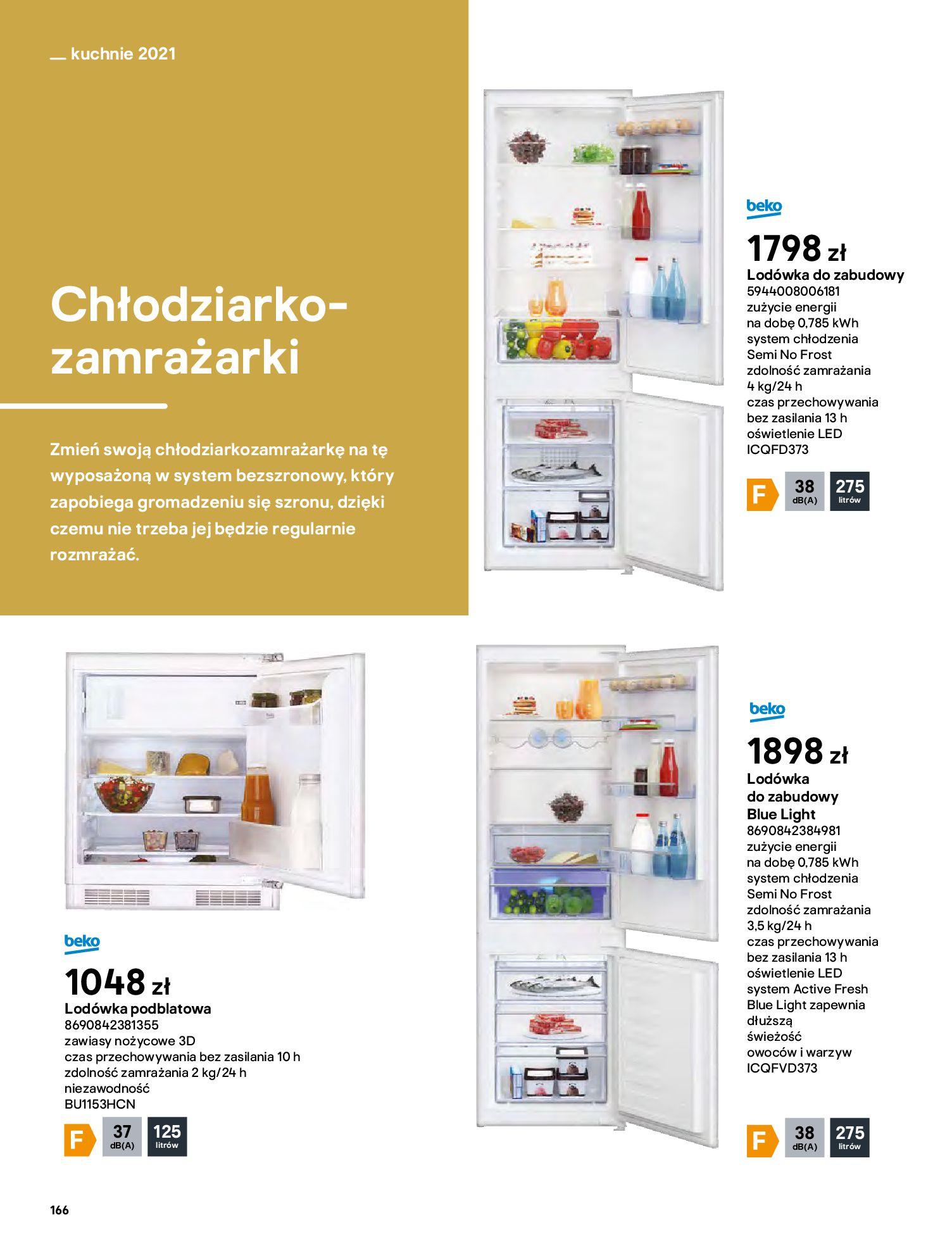 Gazetka Castorama: Katalog kuchnie 2021 2021-05-04 page-166