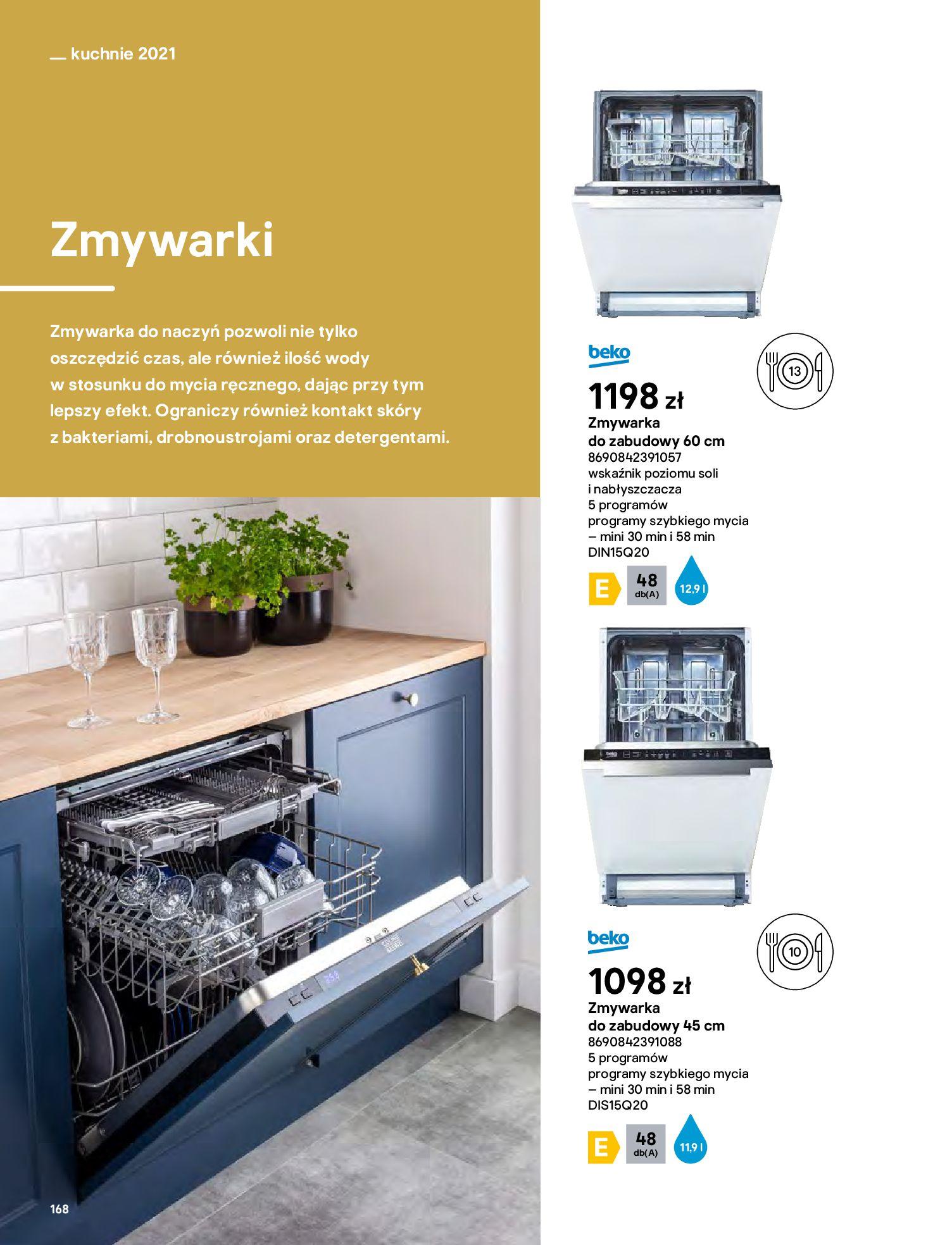 Gazetka Castorama: Katalog kuchnie 2021 2021-05-04 page-168