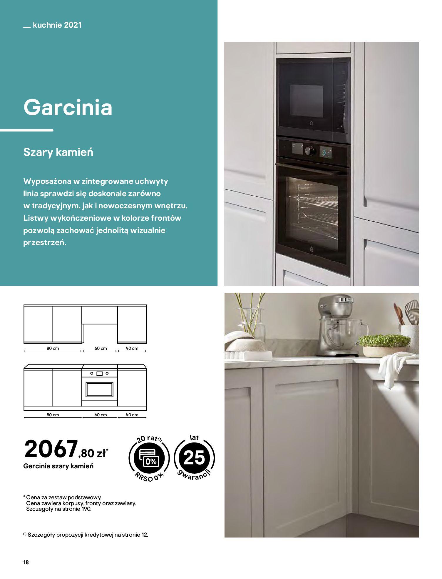 Gazetka Castorama: Katalog kuchnie 2021 2021-05-04 page-18