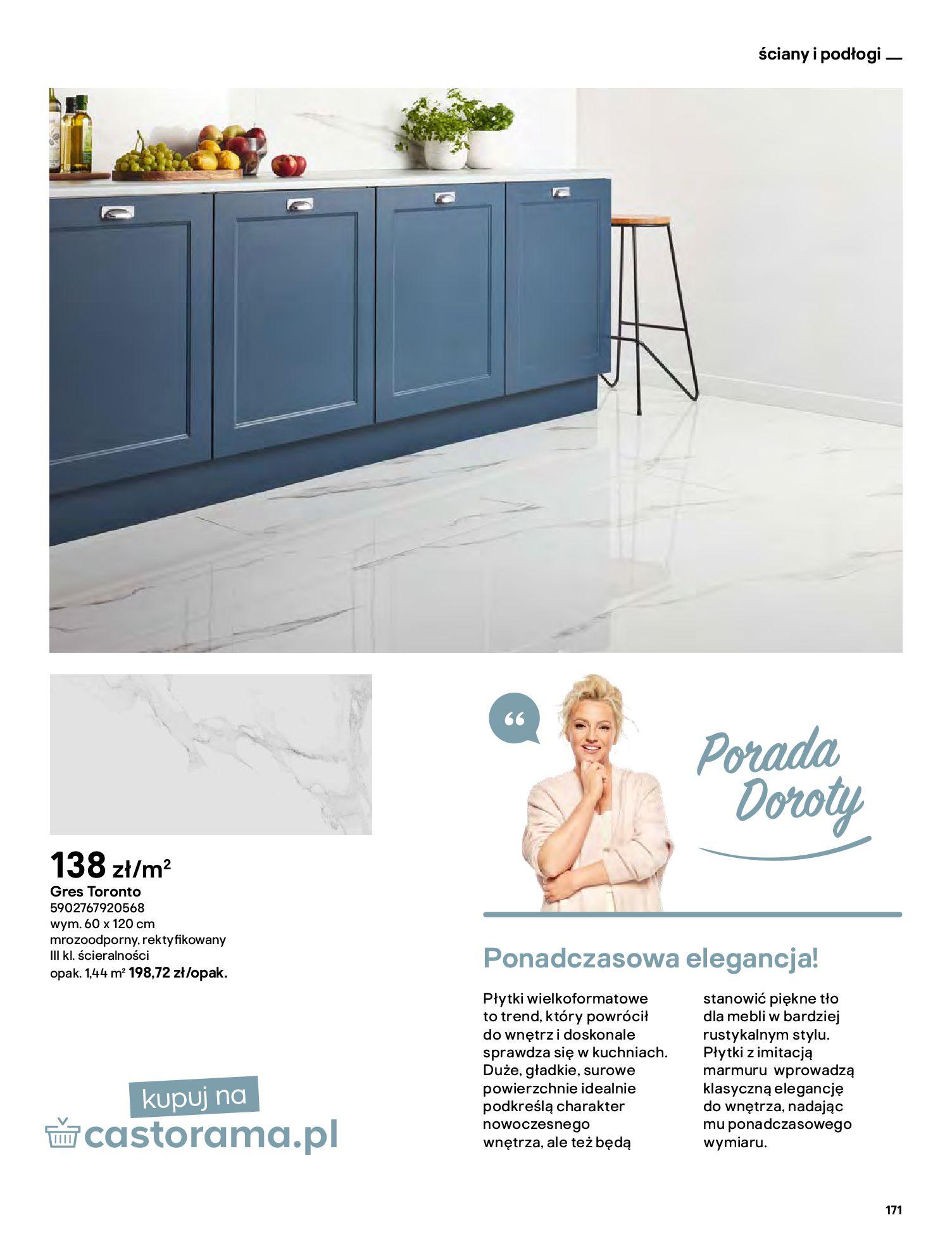 Gazetka Castorama: Katalog kuchnie 2021 2021-05-04 page-171