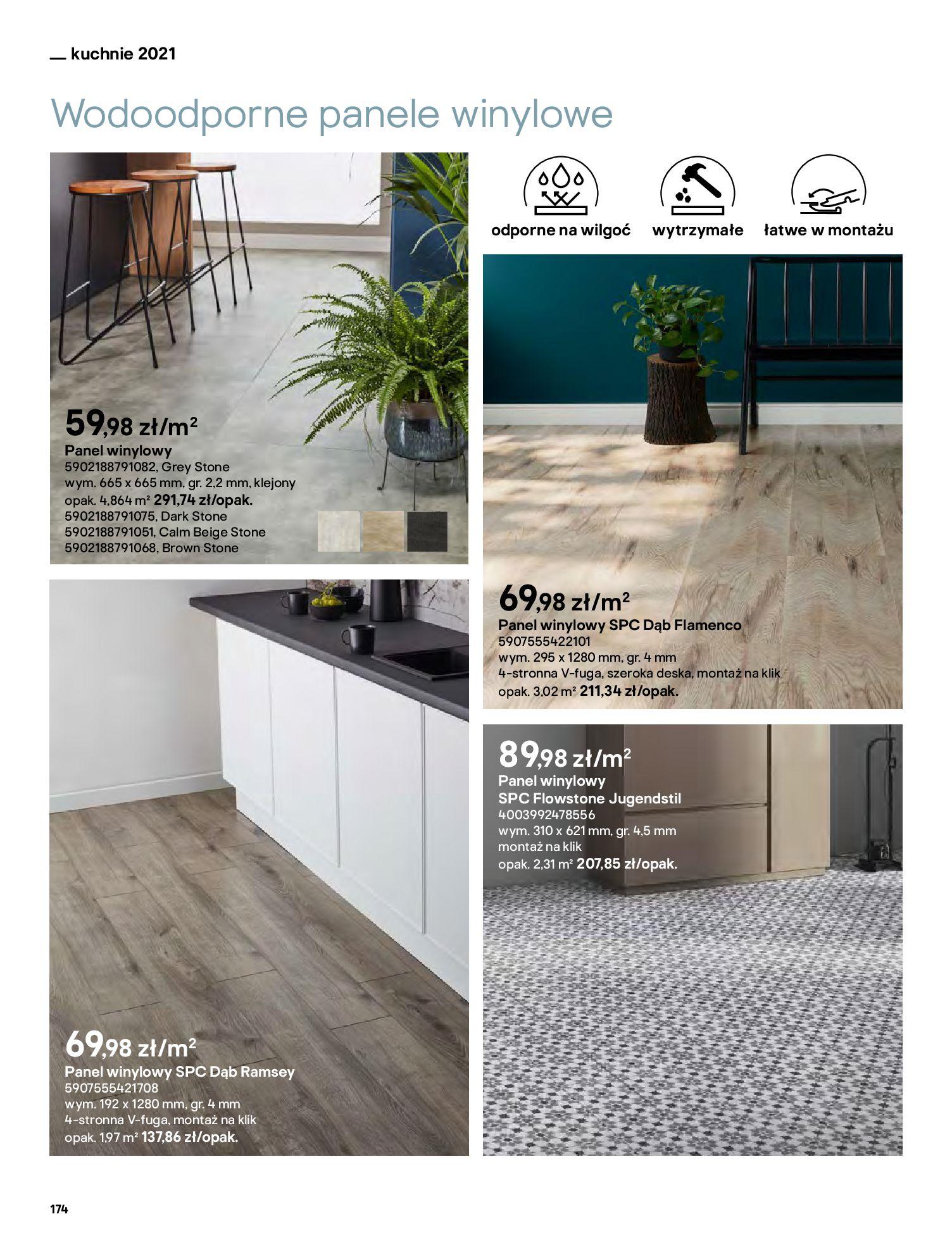 Gazetka Castorama: Katalog kuchnie 2021 2021-05-04 page-174