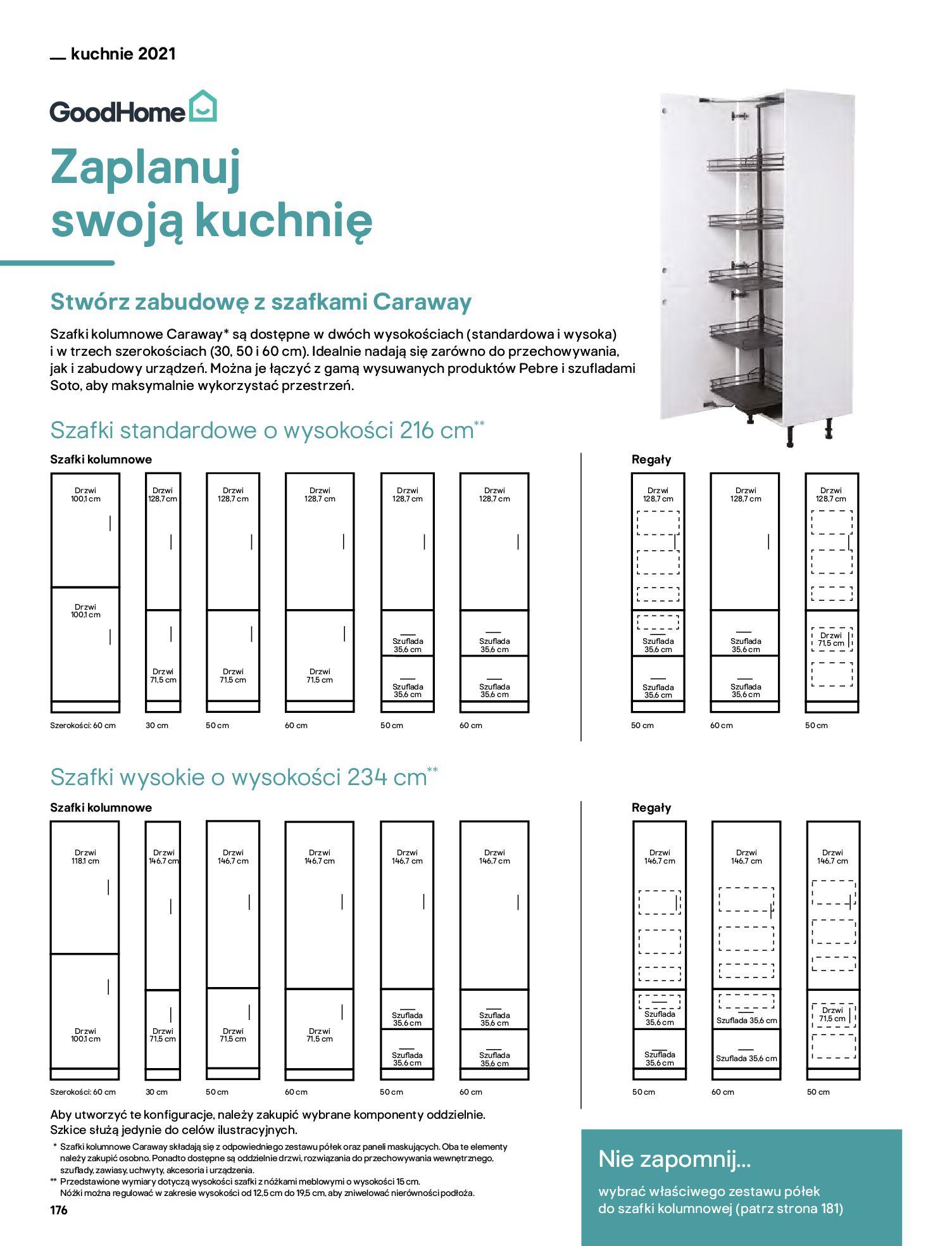 Gazetka Castorama: Katalog kuchnie 2021 2021-05-04 page-176
