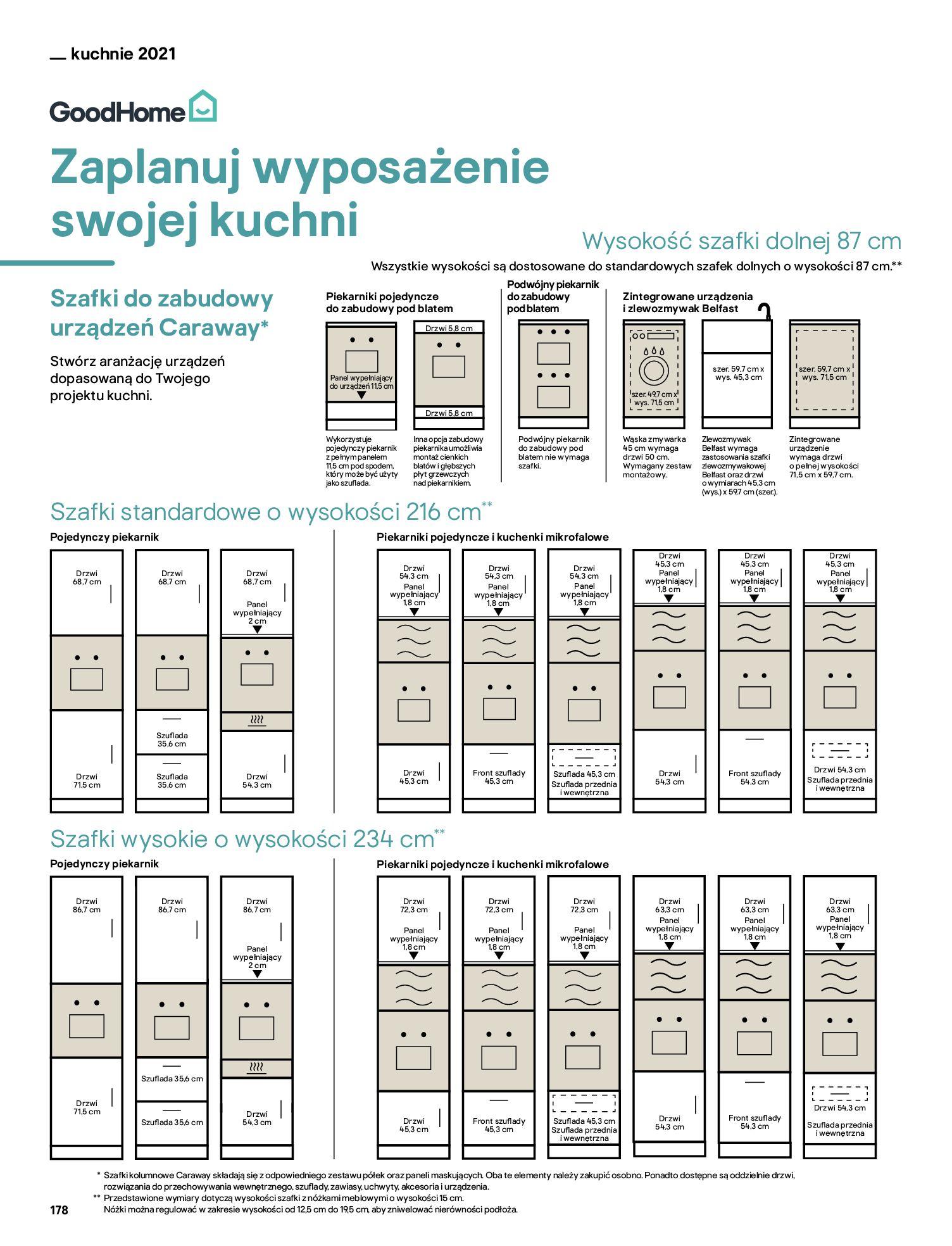 Gazetka Castorama: Katalog kuchnie 2021 2021-05-04 page-178