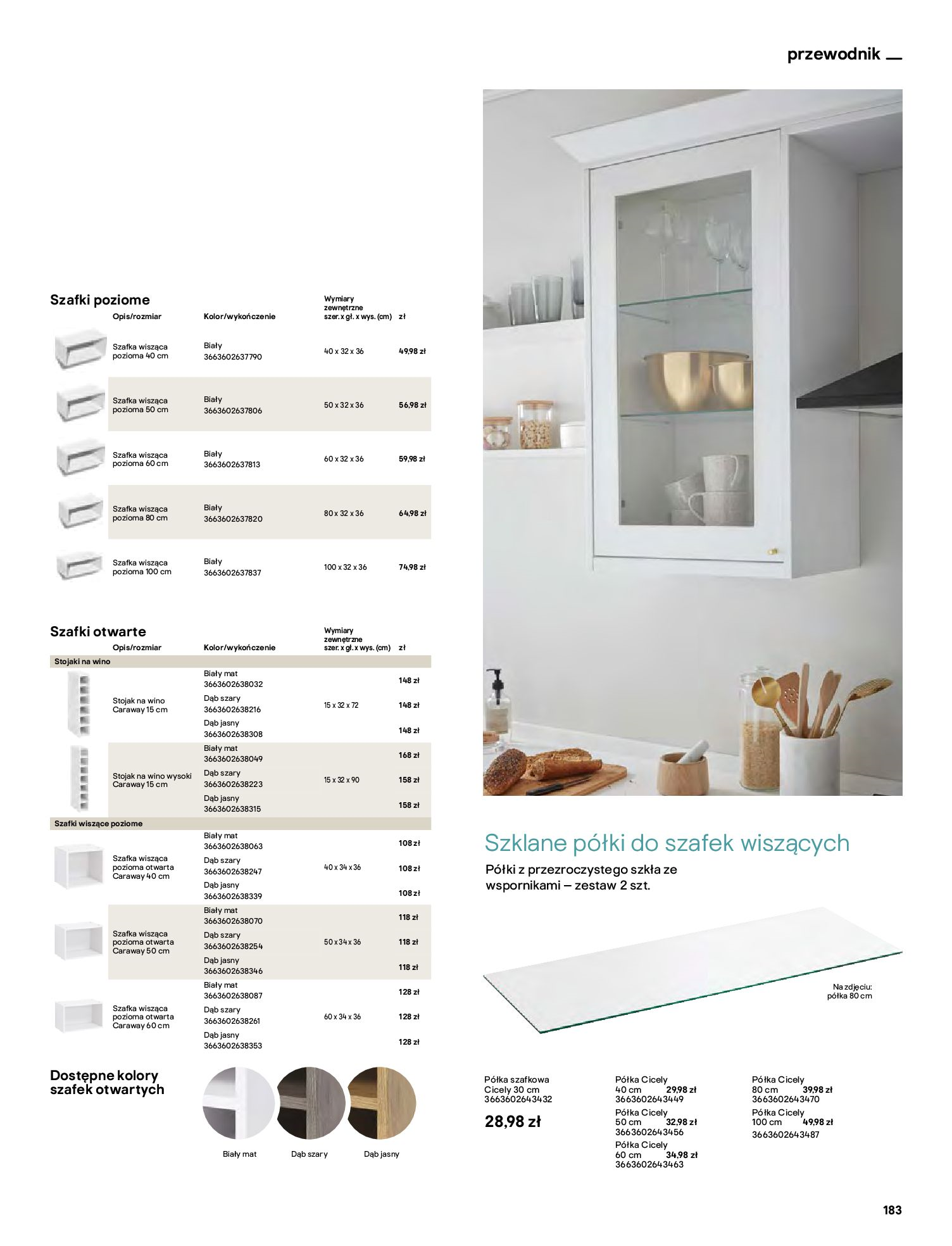 Gazetka Castorama: Katalog kuchnie 2021 2021-05-04 page-183