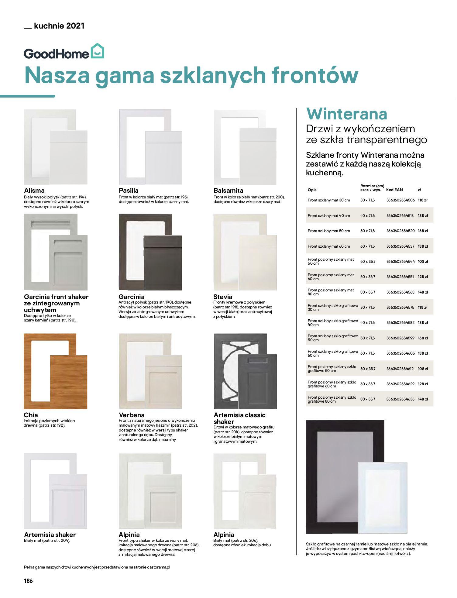 Gazetka Castorama: Katalog kuchnie 2021 2021-05-04 page-186