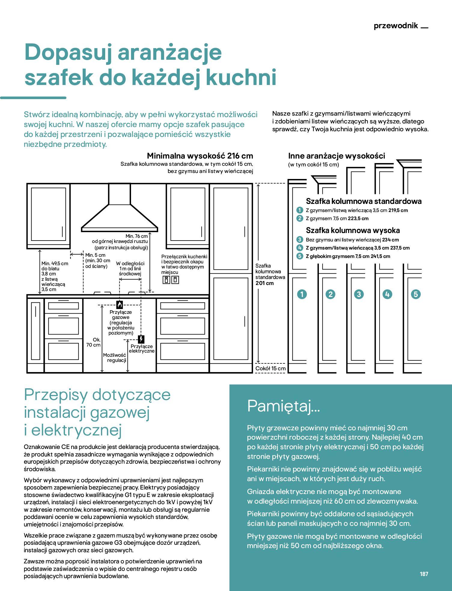 Gazetka Castorama: Katalog kuchnie 2021 2021-05-04 page-187