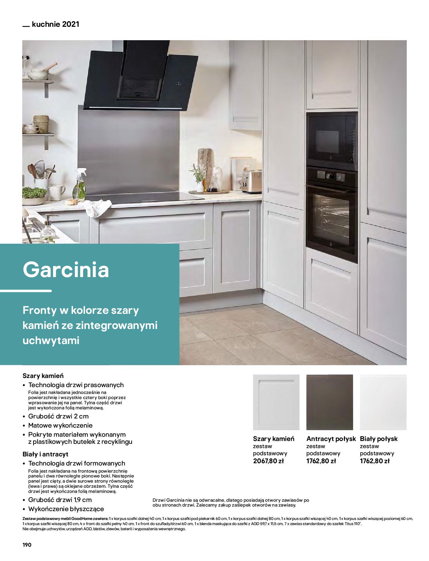 Gazetka Castorama: Katalog kuchnie 2021 2021-05-04 page-190