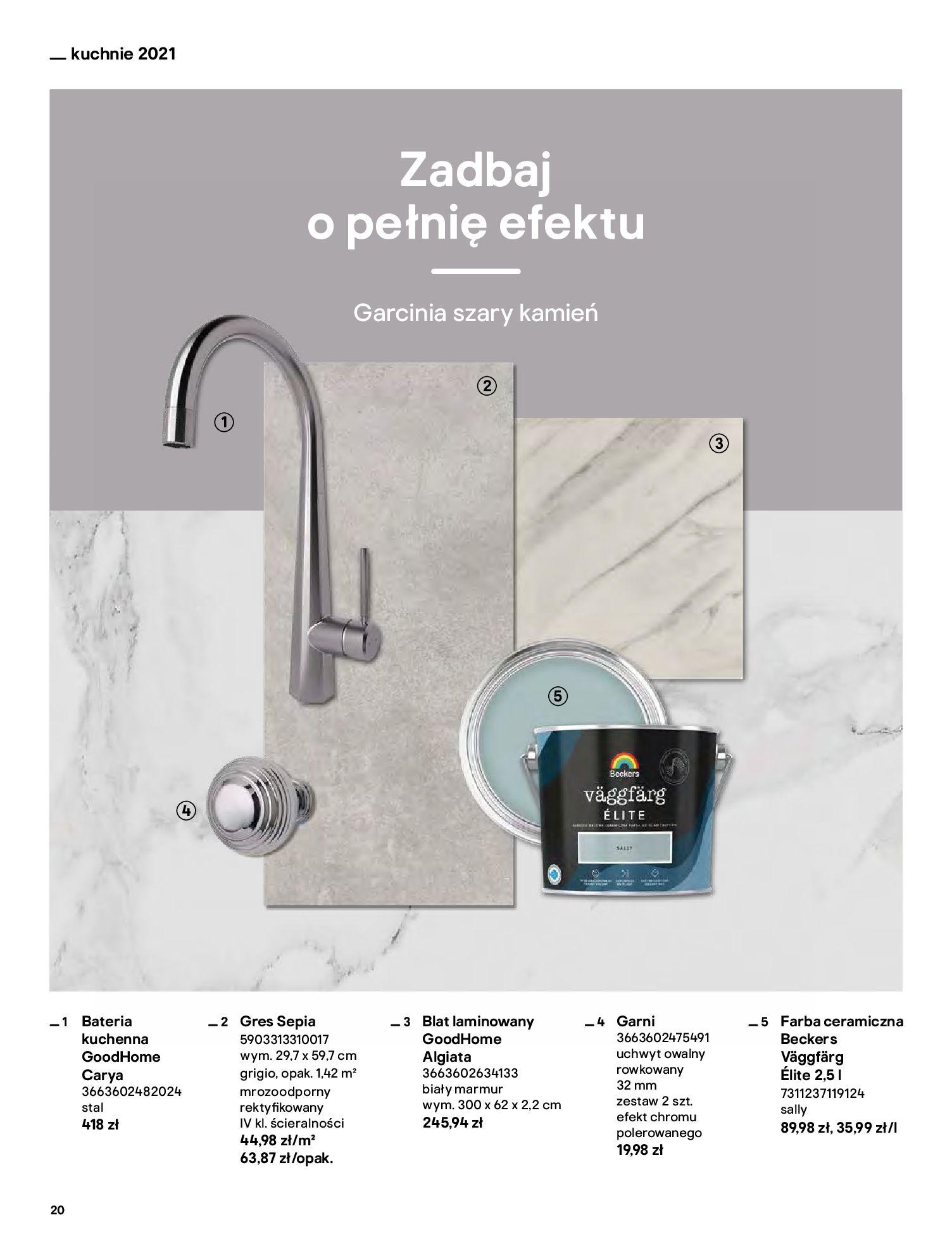 Gazetka Castorama: Katalog kuchnie 2021 2021-05-04 page-20