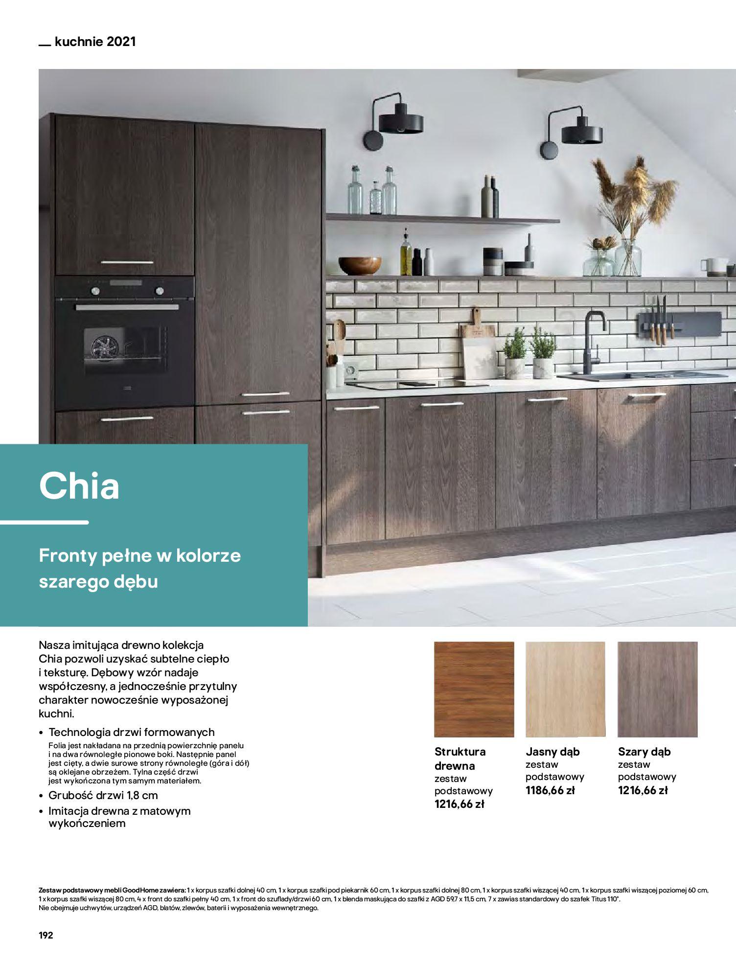 Gazetka Castorama: Katalog kuchnie 2021 2021-05-04 page-192