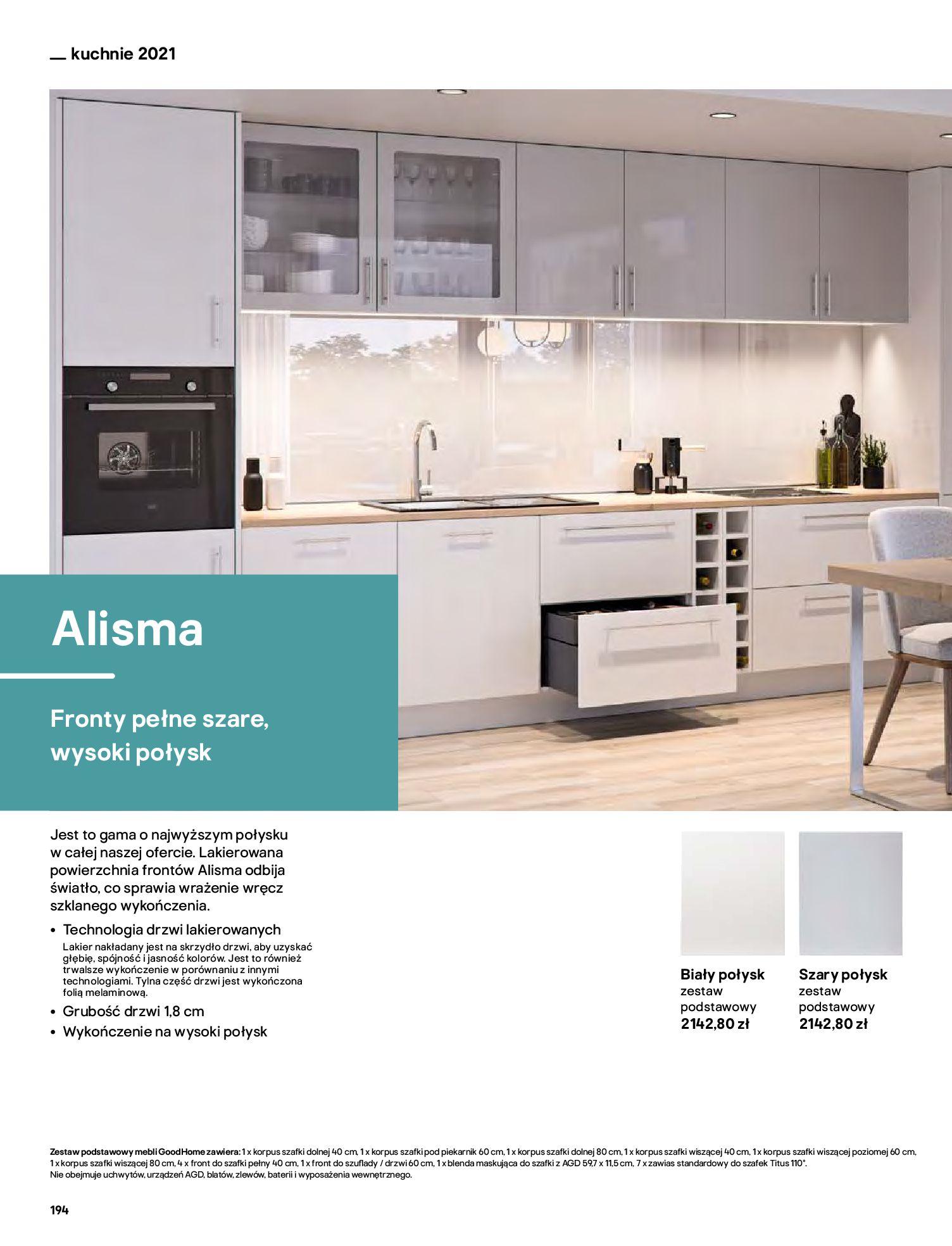 Gazetka Castorama: Katalog kuchnie 2021 2021-05-04 page-194