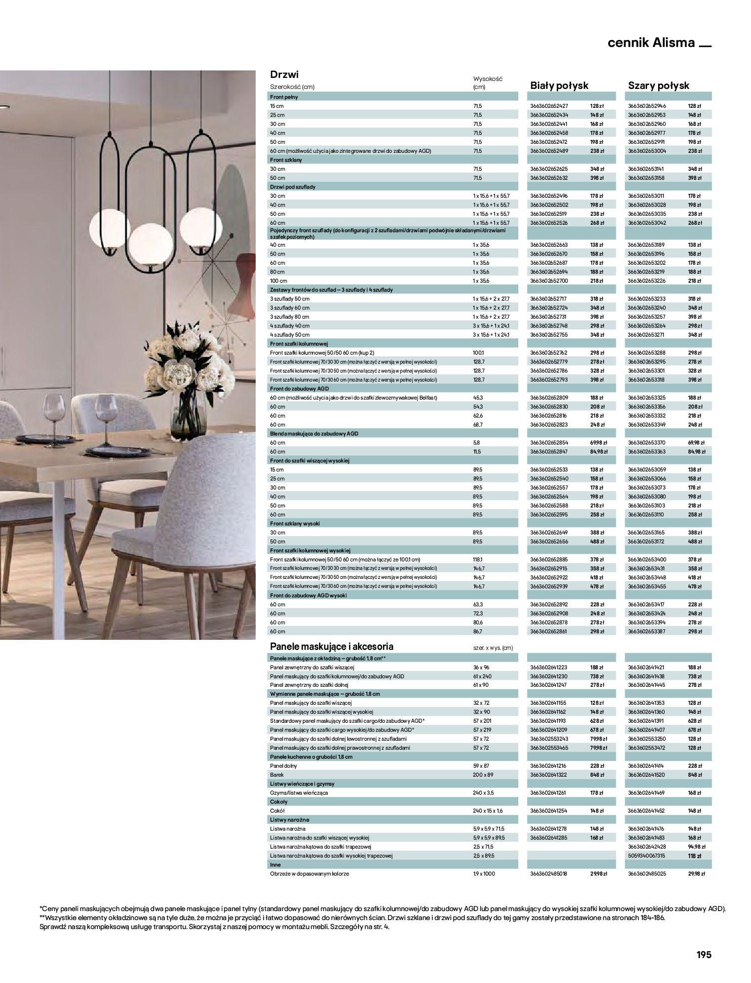 Gazetka Castorama: Katalog kuchnie 2021 2021-05-04 page-195