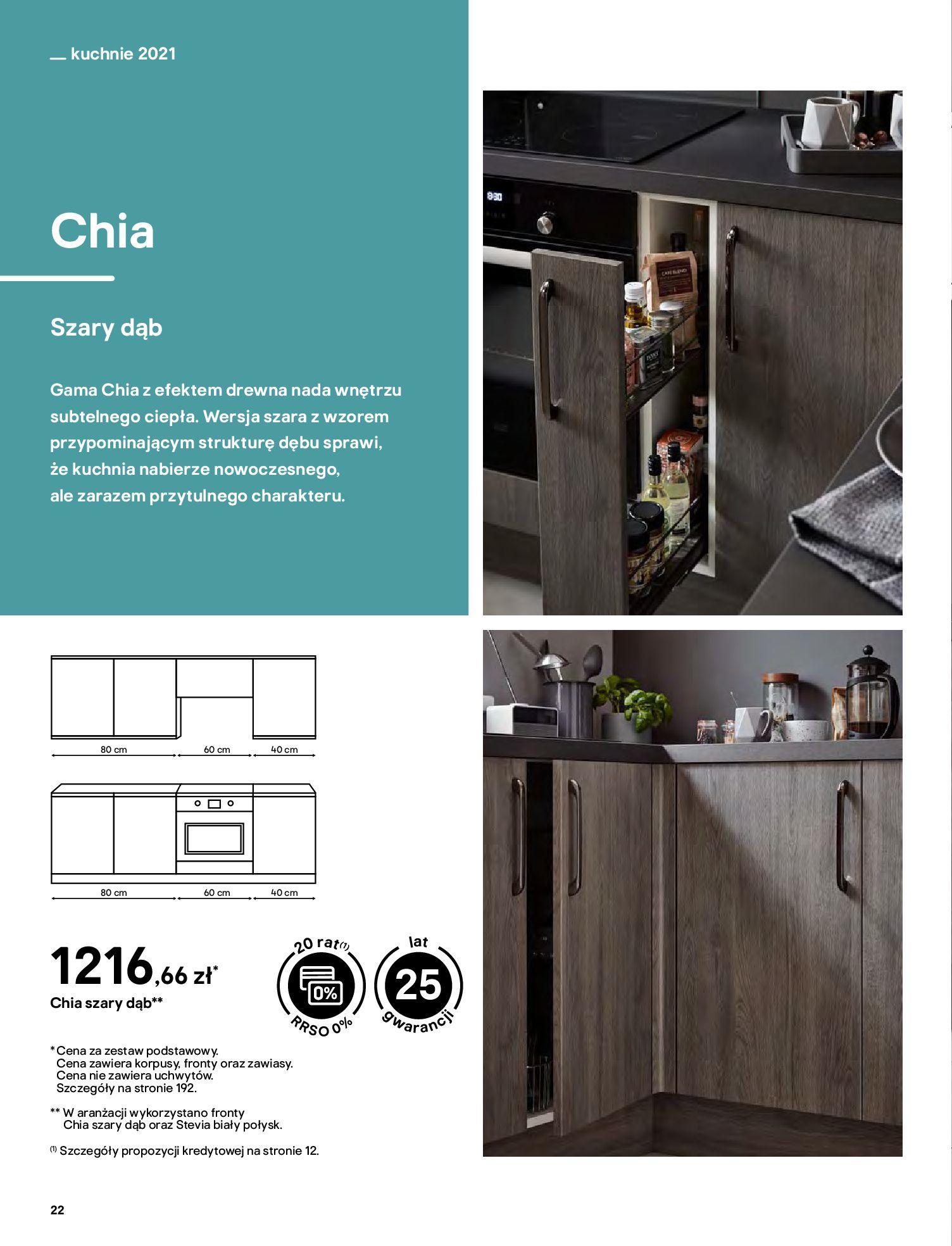 Gazetka Castorama: Katalog kuchnie 2021 2021-05-04 page-22