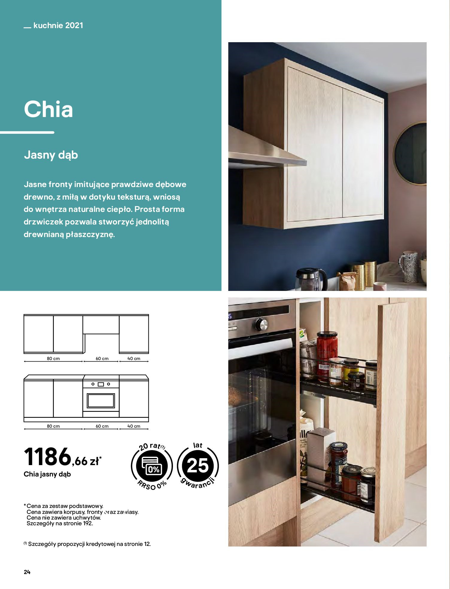 Gazetka Castorama: Katalog kuchnie 2021 2021-05-04 page-24