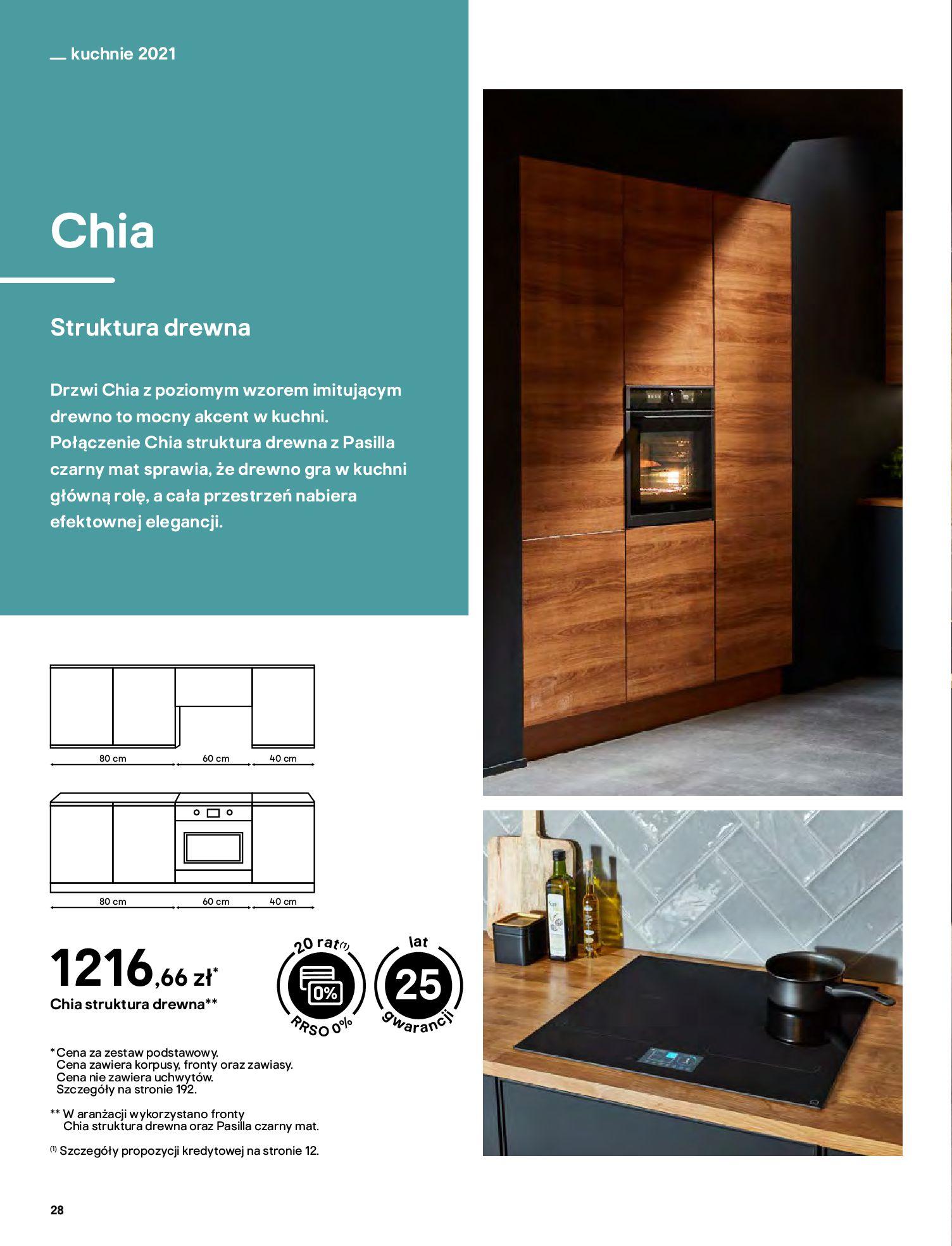 Gazetka Castorama: Katalog kuchnie 2021 2021-05-04 page-28