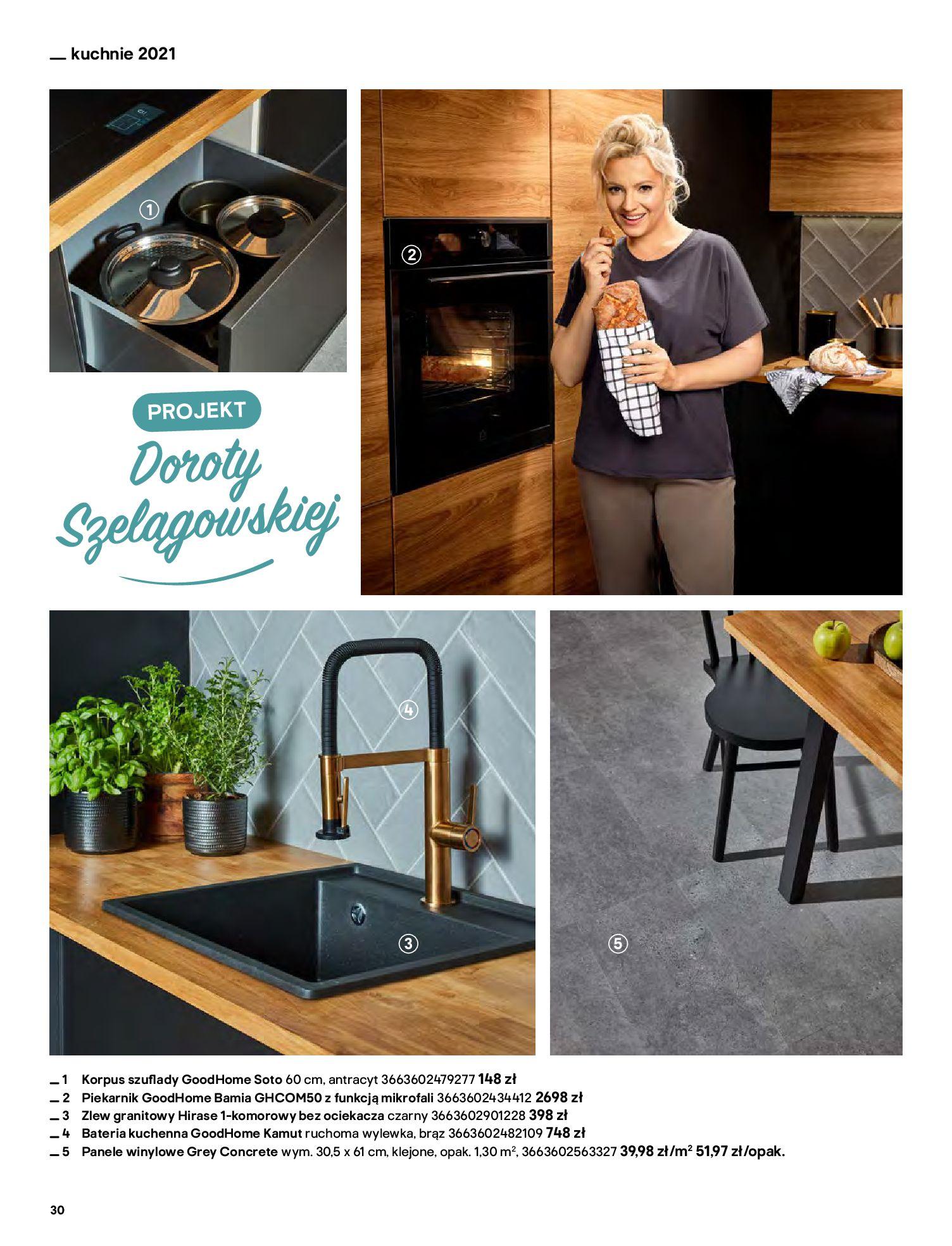 Gazetka Castorama: Katalog kuchnie 2021 2021-05-04 page-30