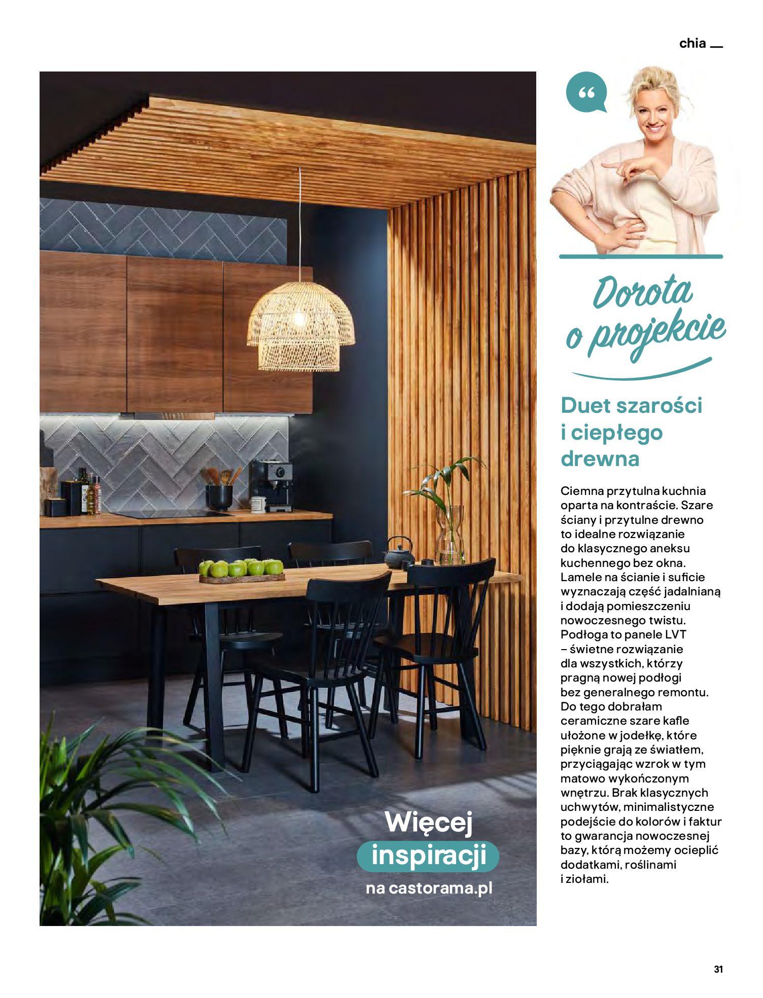 Gazetka Castorama: Katalog kuchnie 2021 2021-05-04 page-31