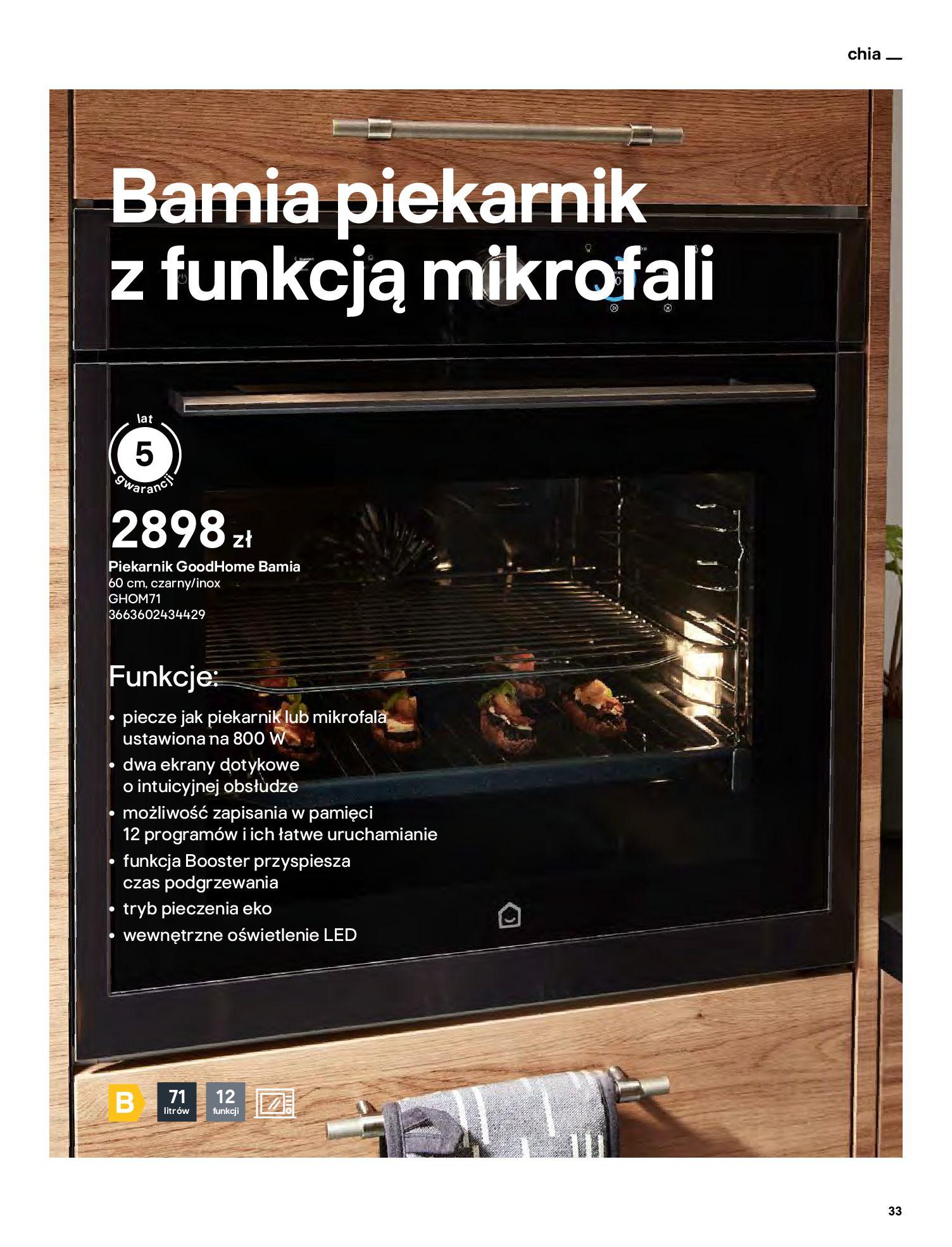 Gazetka Castorama: Katalog kuchnie 2021 2021-05-04 page-33