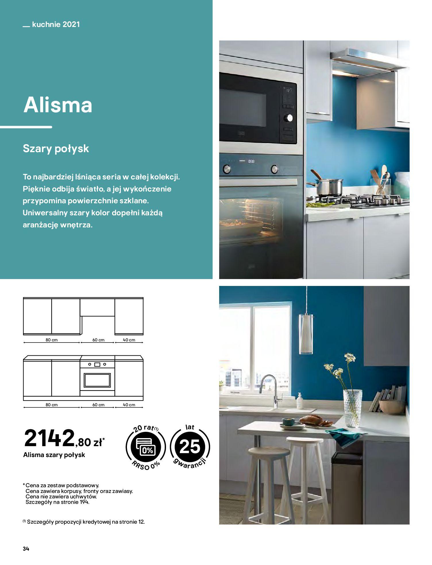 Gazetka Castorama: Katalog kuchnie 2021 2021-05-04 page-34