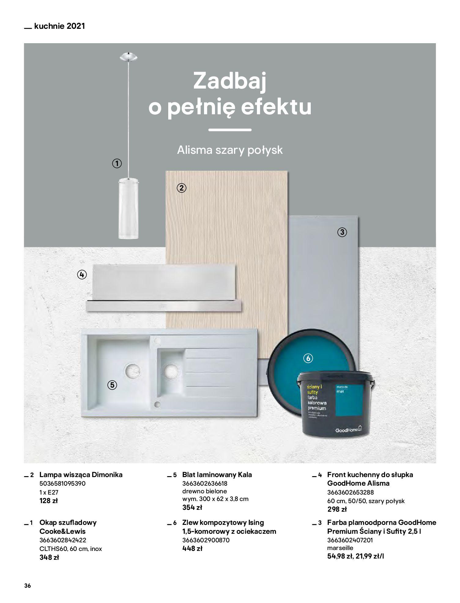 Gazetka Castorama: Katalog kuchnie 2021 2021-05-04 page-36