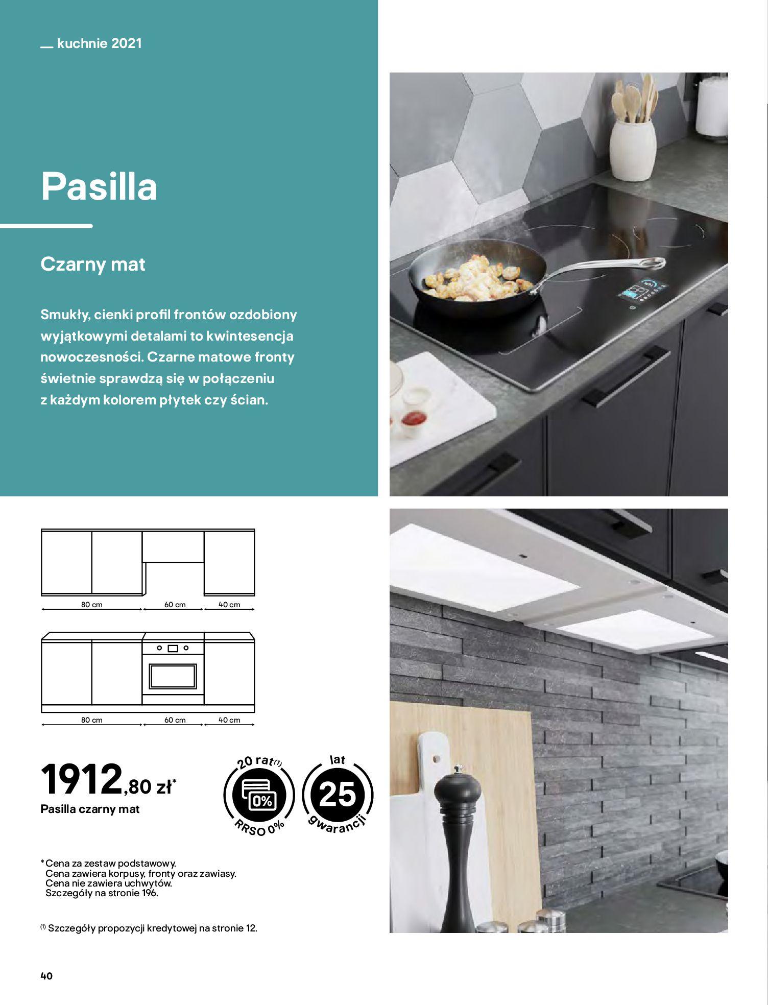 Gazetka Castorama: Katalog kuchnie 2021 2021-05-04 page-40