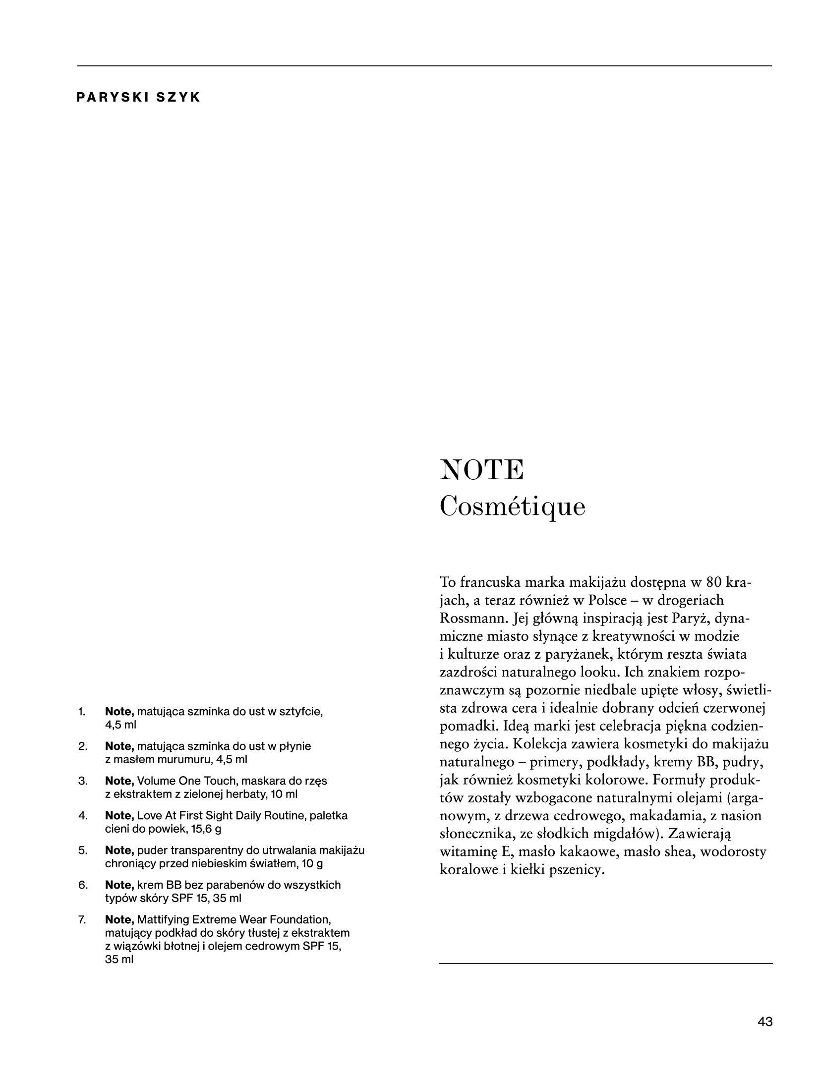 Gazetka Rossmann: Magazyn Rossmann - Skarb 2021-05-18 page-43
