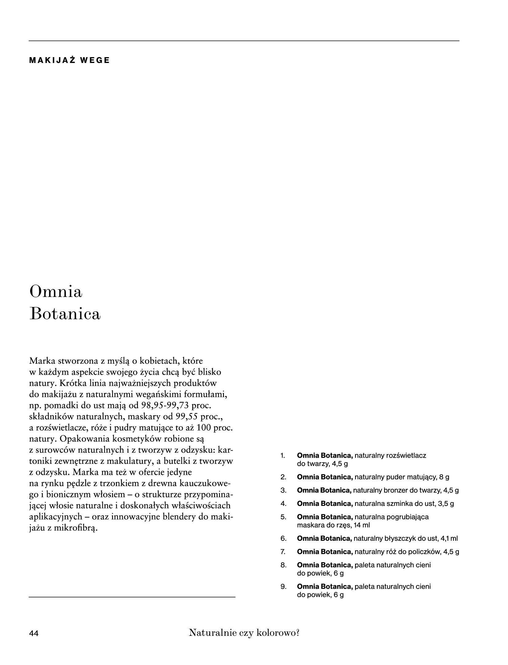 Gazetka Rossmann: Magazyn Rossmann - Skarb 2021-05-18 page-44