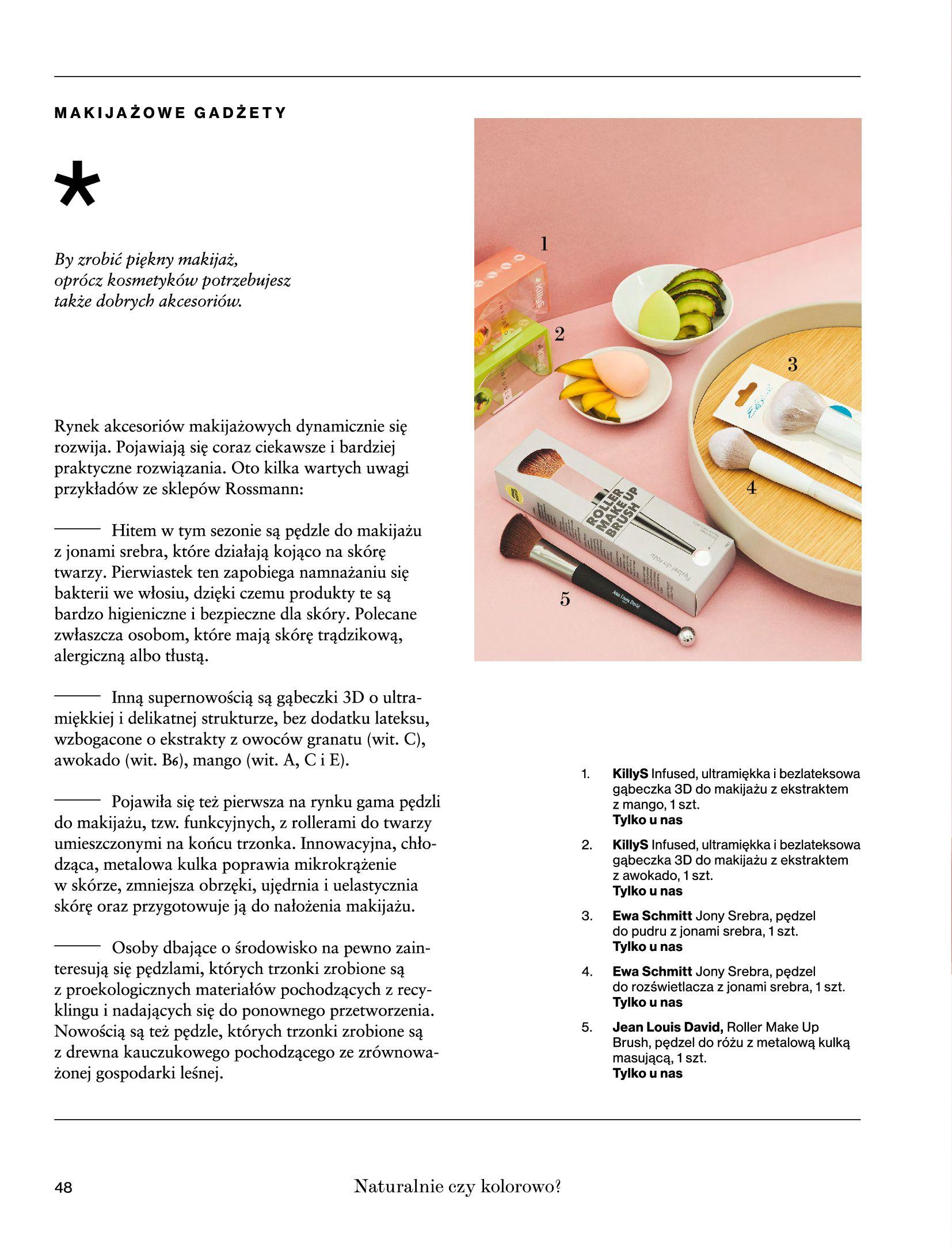 Gazetka Rossmann: Magazyn Rossmann - Skarb 2021-05-18 page-48